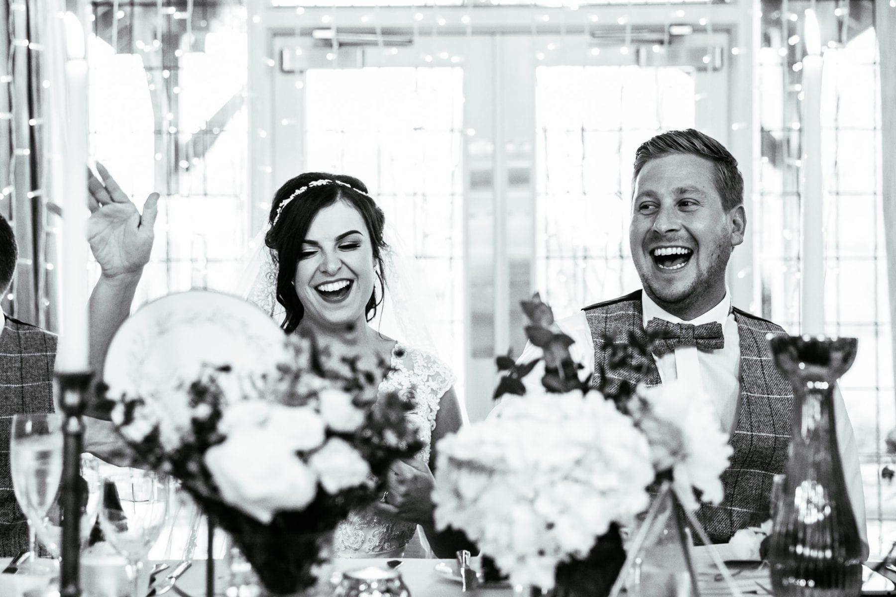 Fun Wedding Photographer Colshaw Hall.