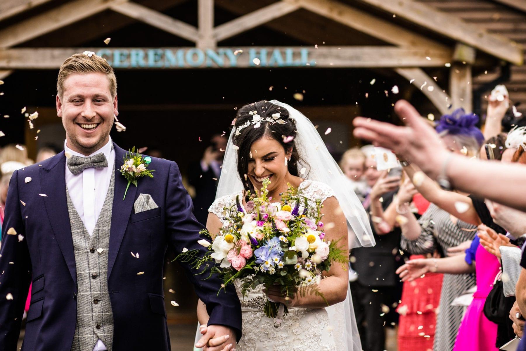 Fun Wedding Photographs Colshaw Hall