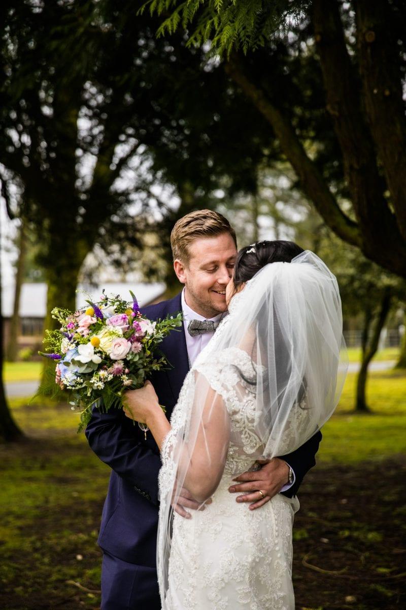 Modern Wedding Photographs Colshaw Hall
