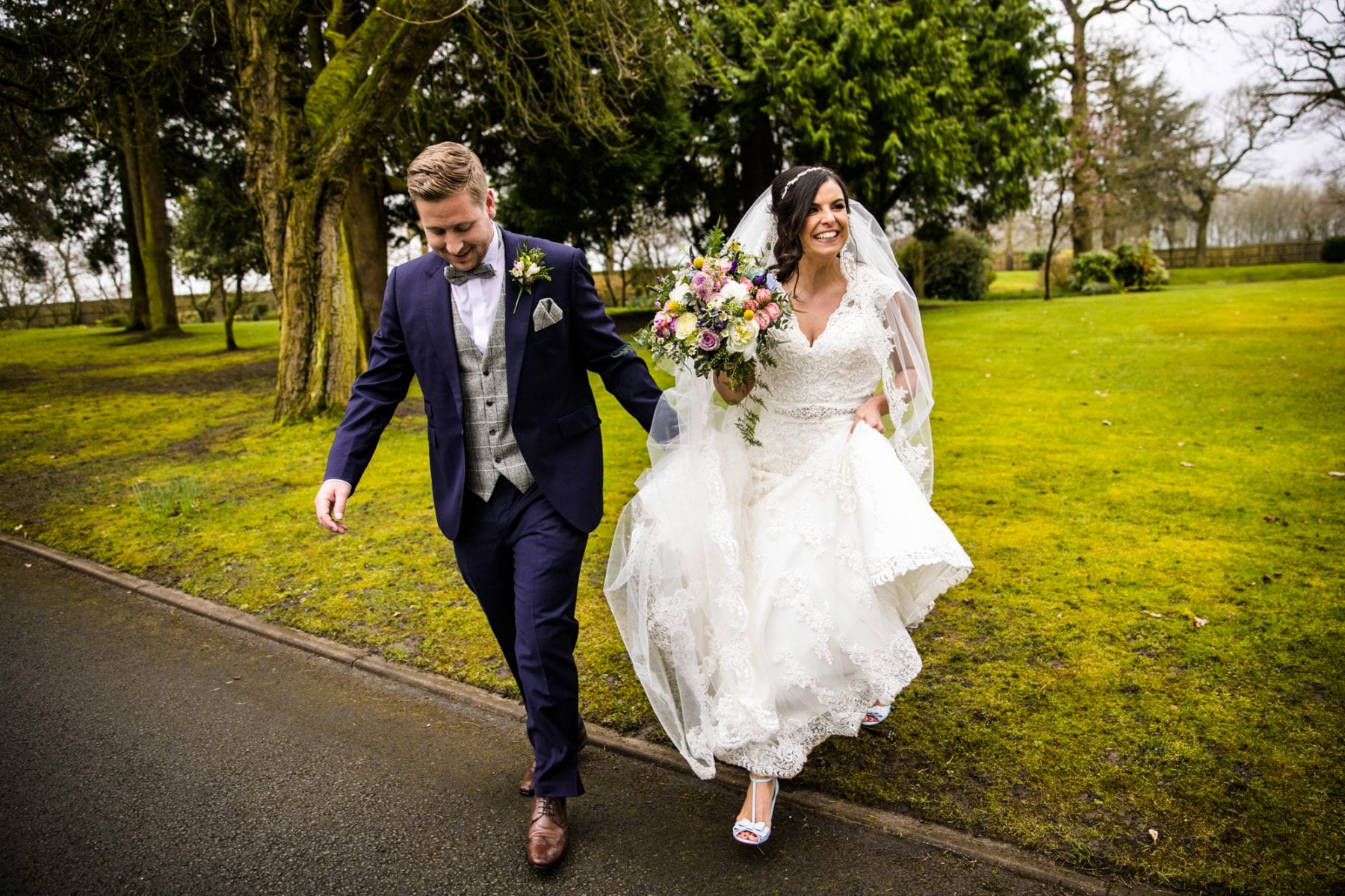 Modern Wedding Photography Colshaw Hall