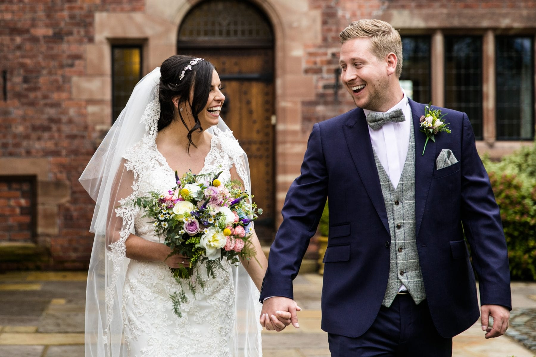 Natural Wedding Photographs Colshaw Hall