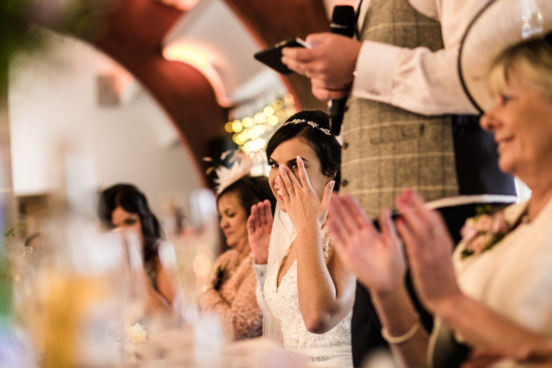 Real Wedding Photographs Colshaw Hall