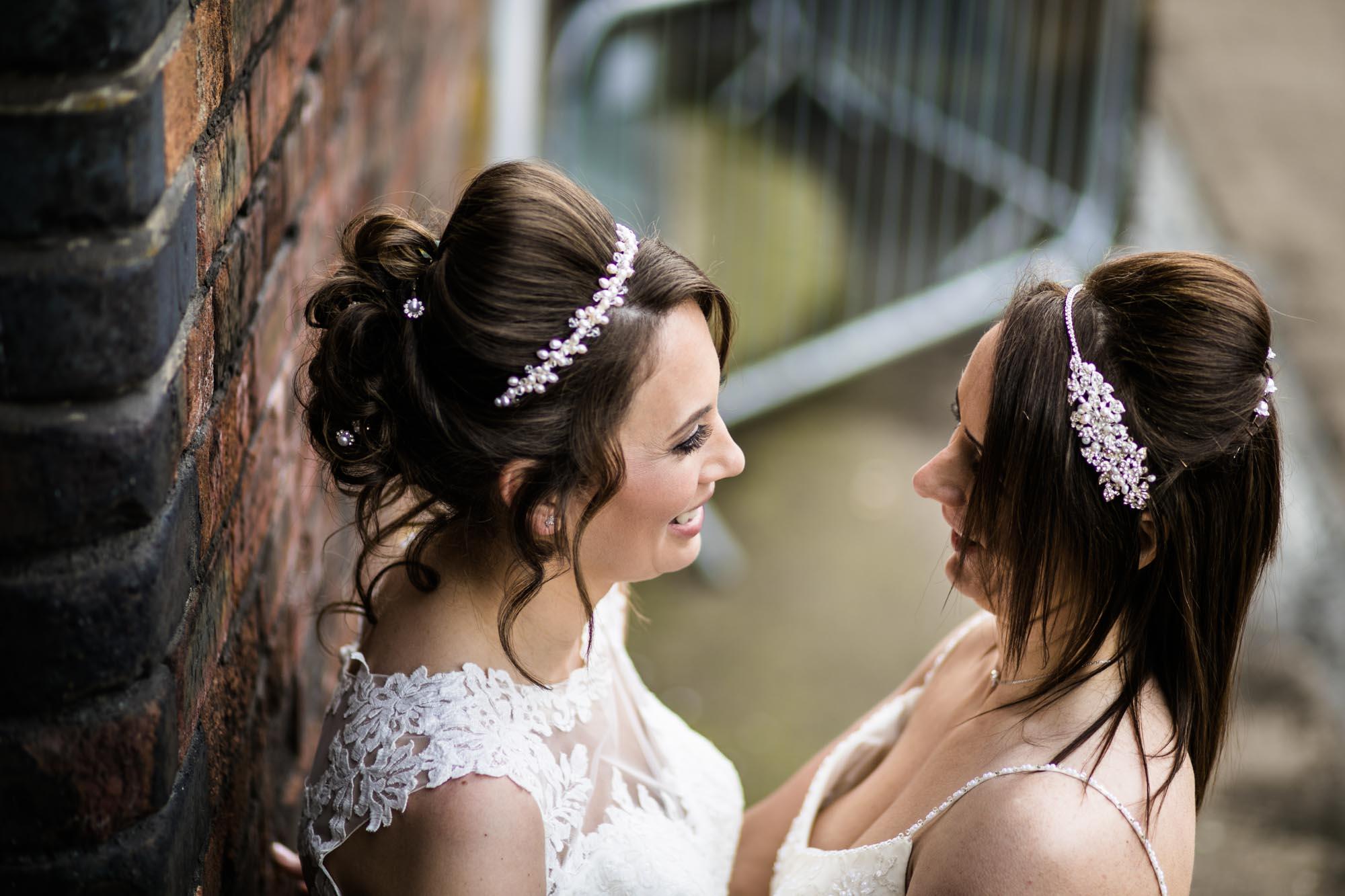Same Sex Wedding Photographs Victoria Warehouse
