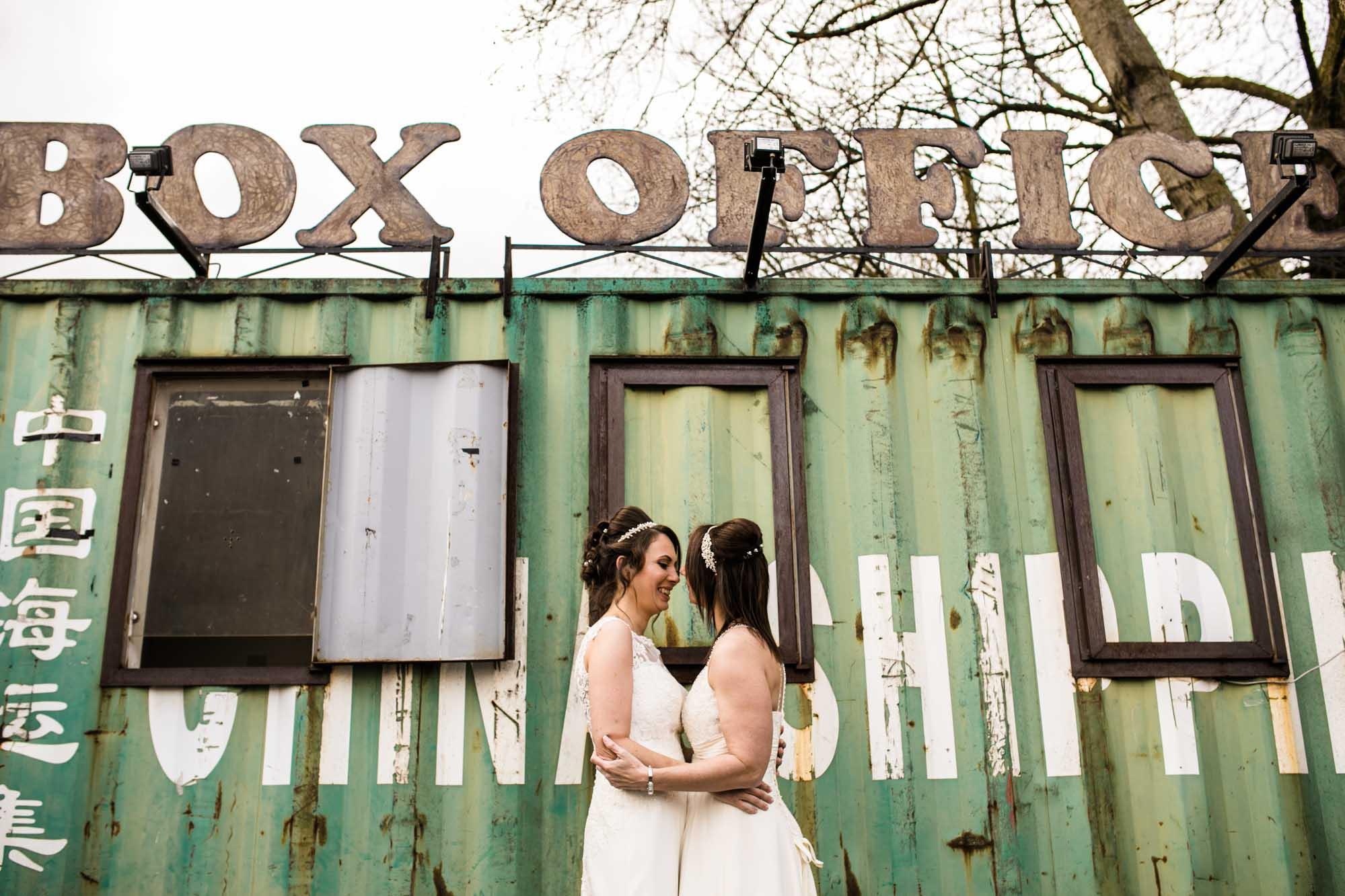 Same Sex Wedding Photography Victoria Warehouse