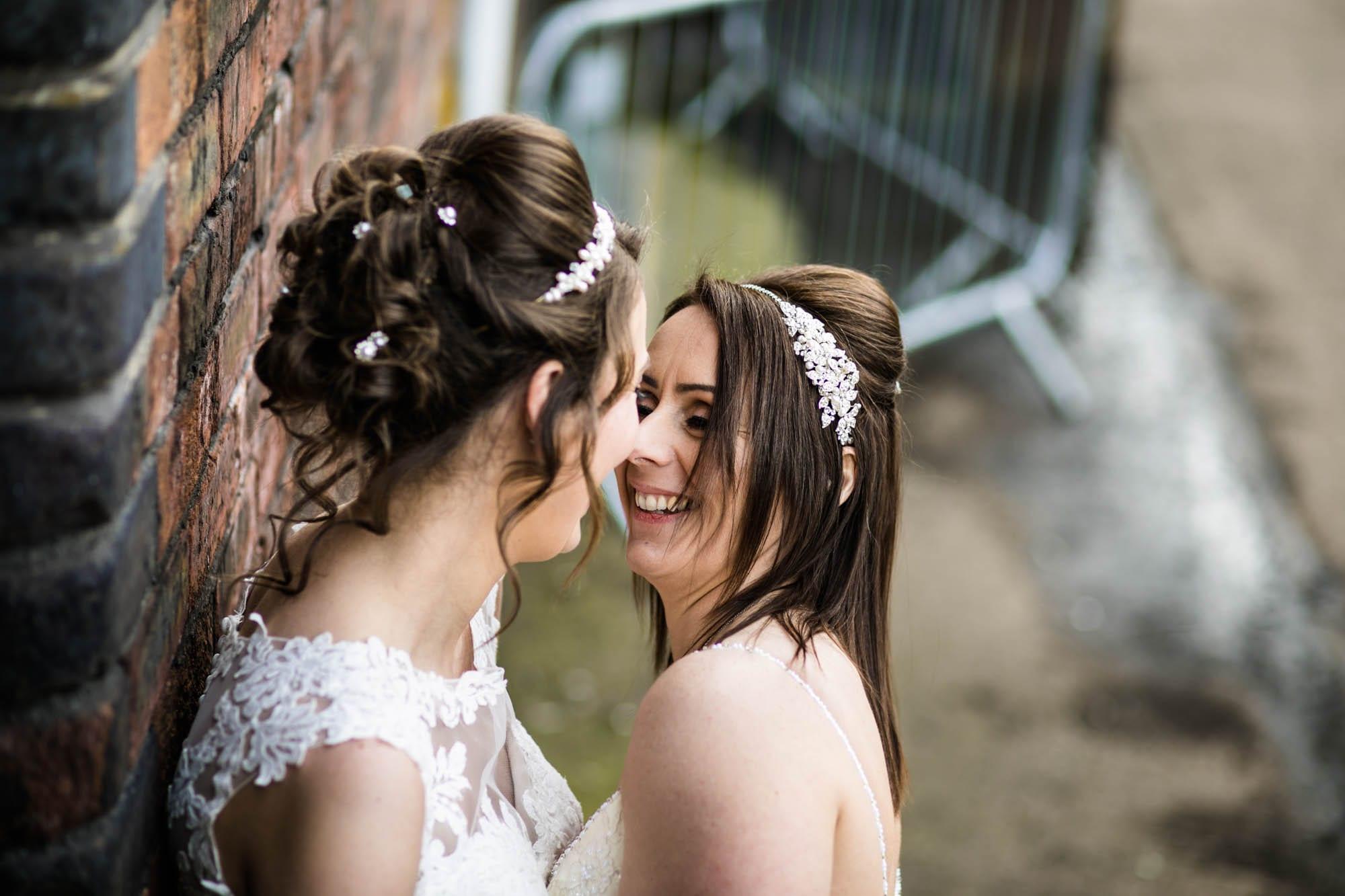 Same Sex Wedding Photos Victoria Warehouse