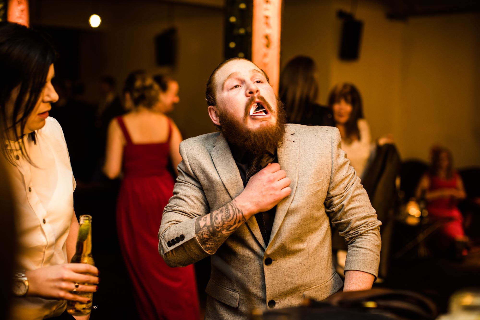 Victoria Warehouse Wedding Fun Photography