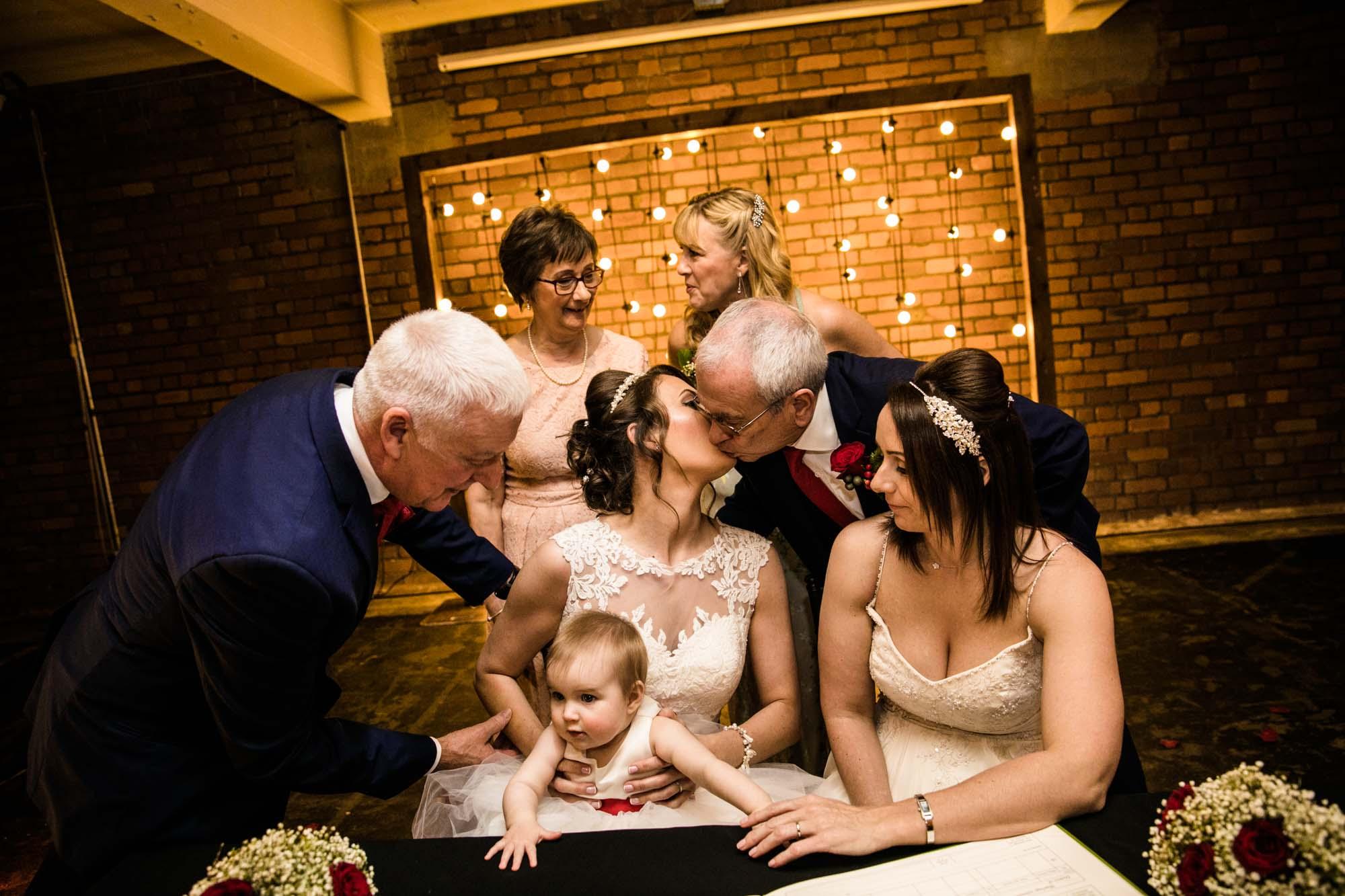 Victoria Warehouse Wedding Photographer