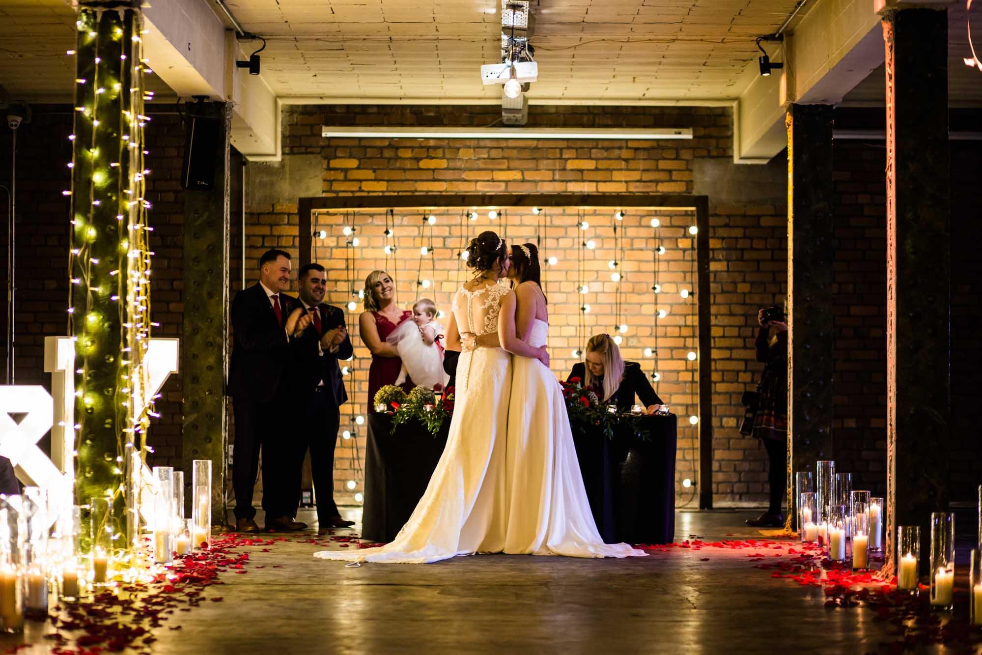 Victoria Warehouse Wedding Photography