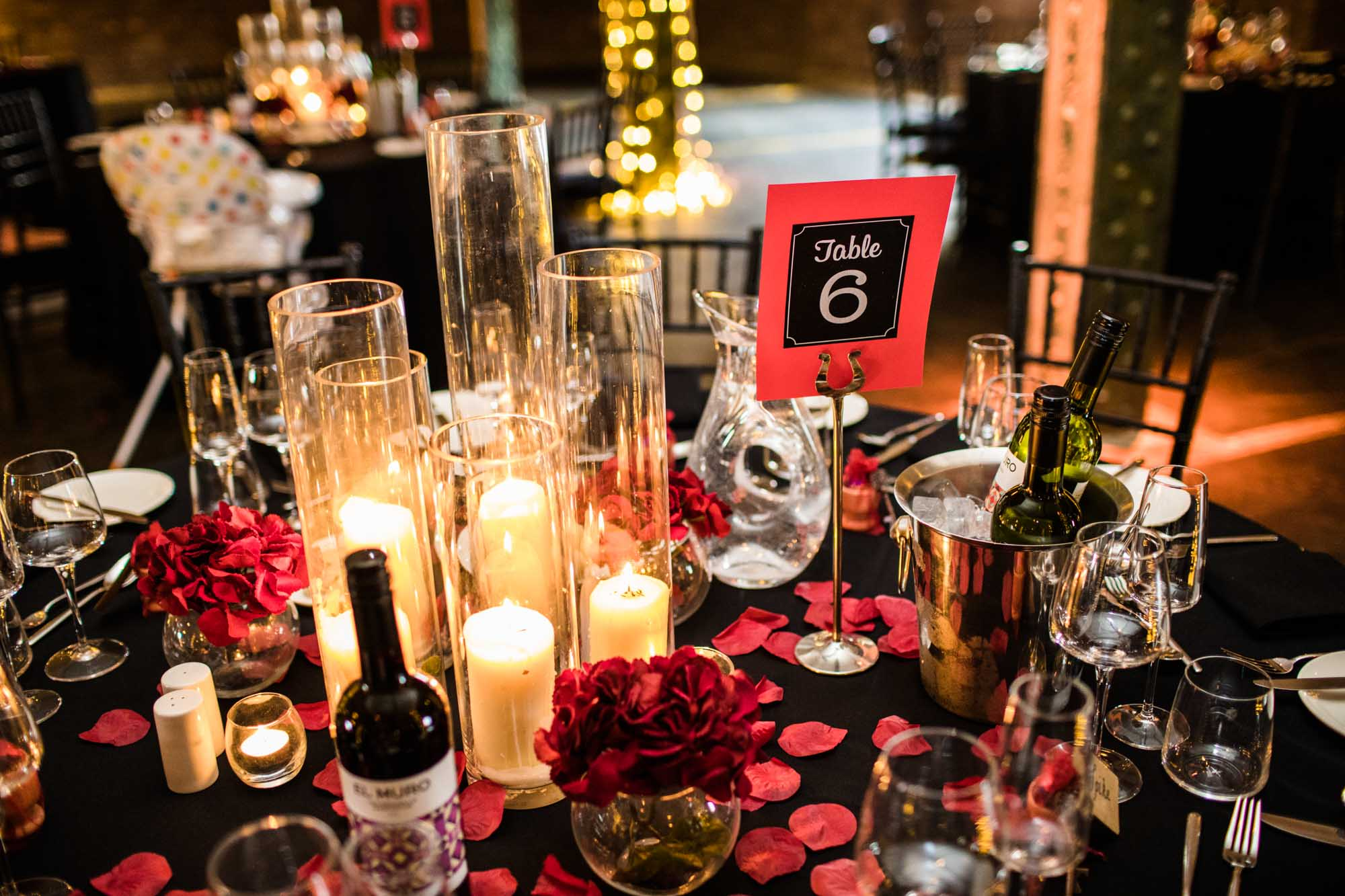 Victoria Warehouse Wedding Reception Photographs