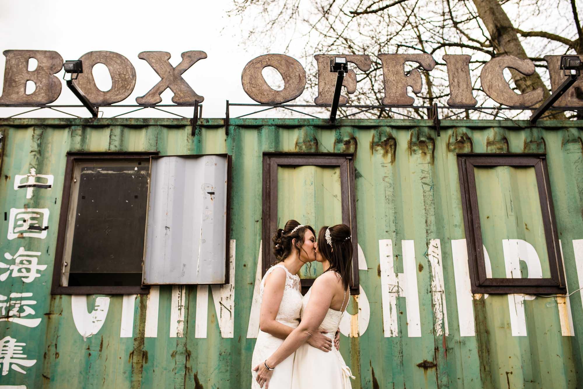 Wedding Photographer Victoria Warehouse