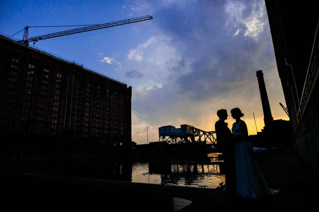 Titanic Hotel Liverpool Wedding Photographs