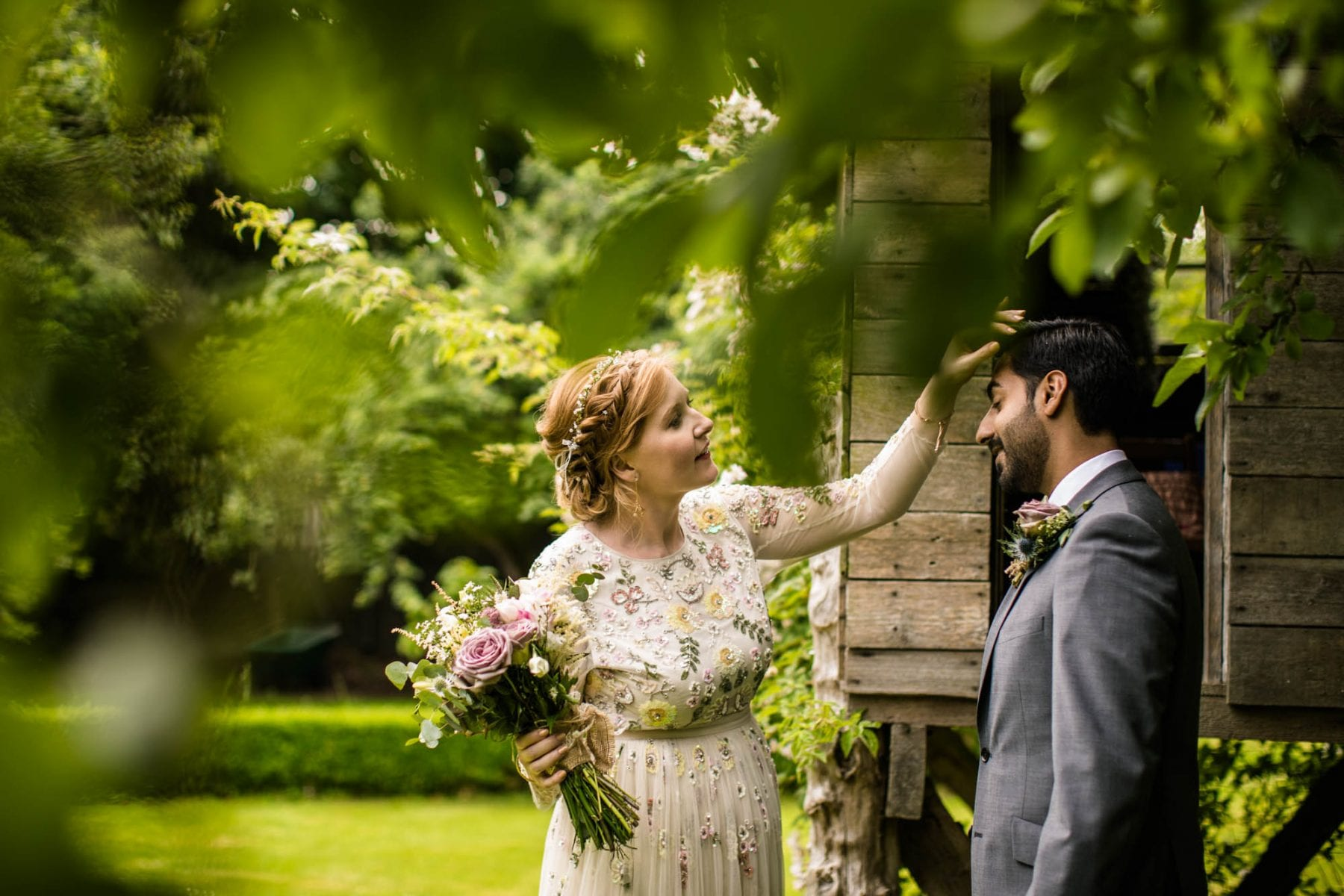 Creative Wedding Photographs Pimhill Barn