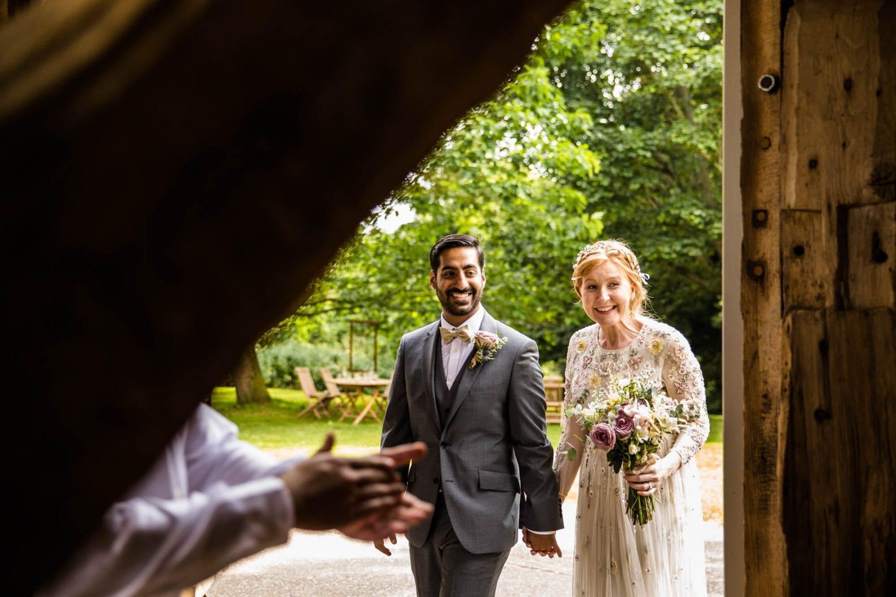 Creative Wedding Photography Pimhill Barn