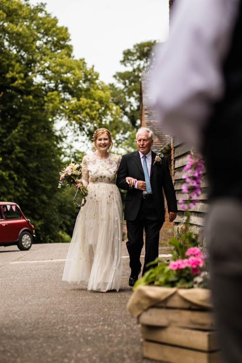 Documentary Wedding Photographer Pimhill Barn