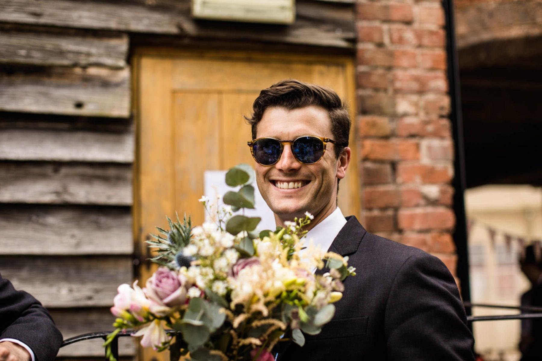 Fun Wedding Photographer Pimhill Barn