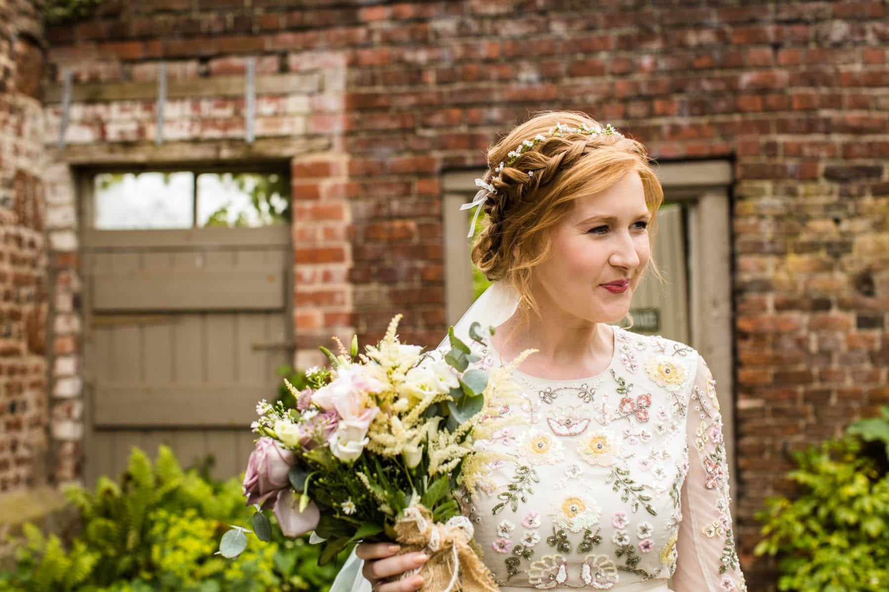 Natural Wedding Photographs Pimhill Barn
