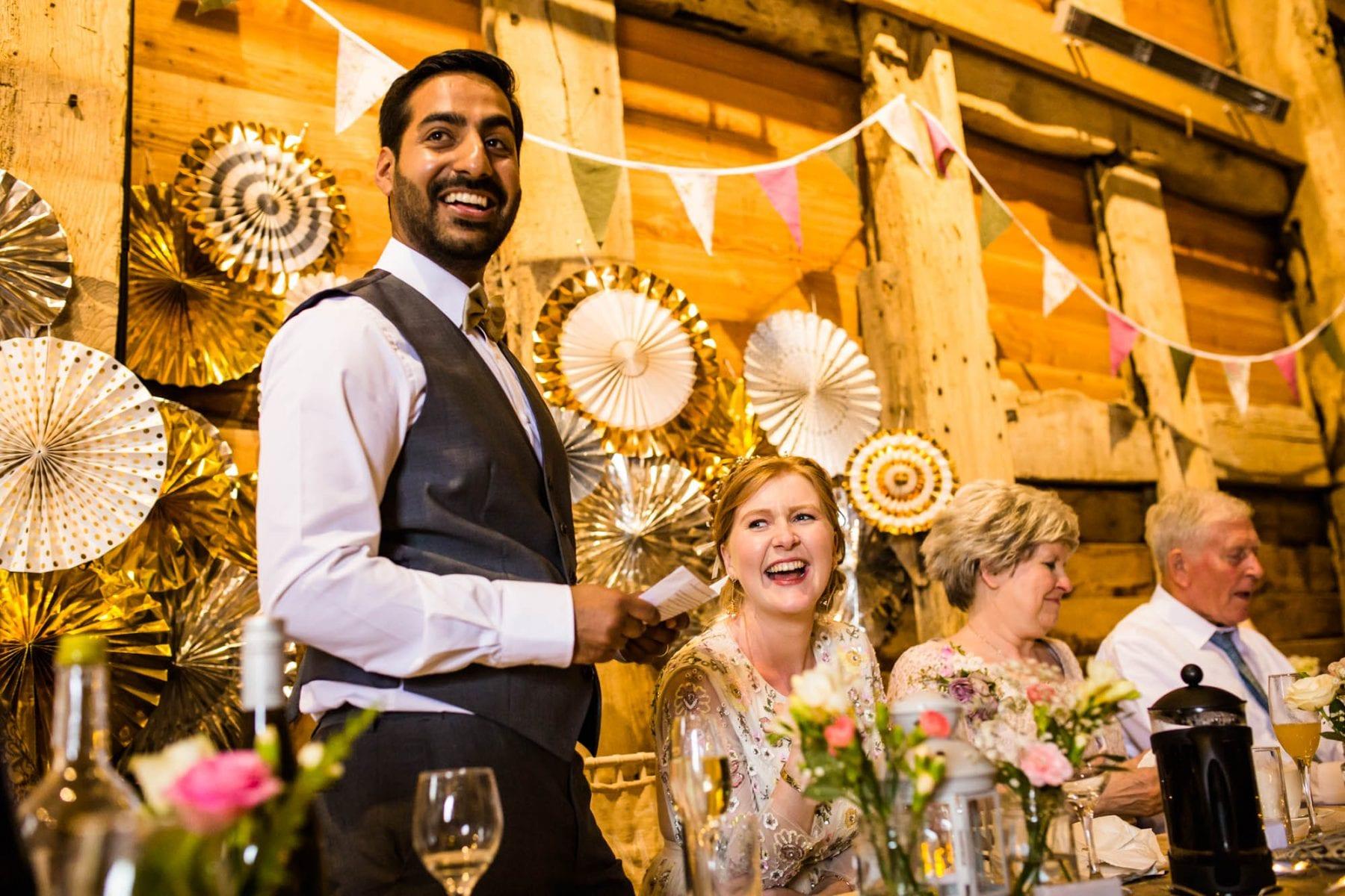 Pimhill Barn Fun Wedding Photographer