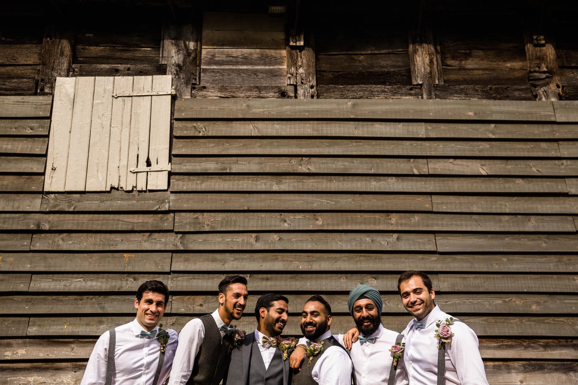 Pimhill Barn Fun Wedding Photography