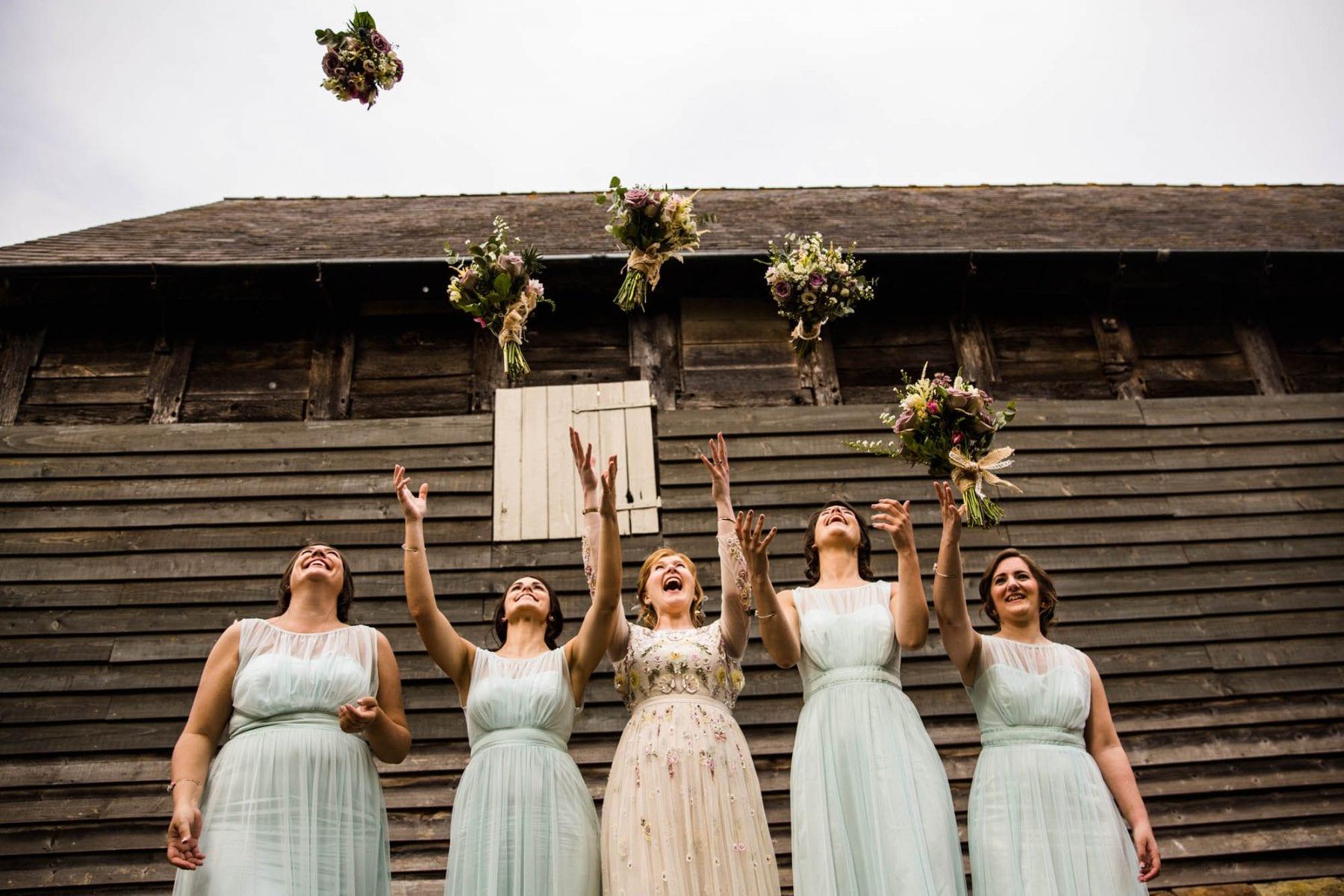 Pimhill Barn Fun Wedding Photos