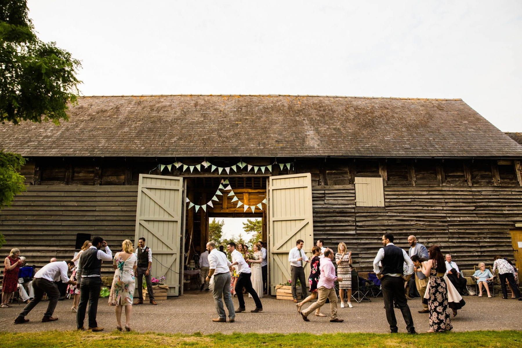 Pimhill Barn Natural Wedding Photographer