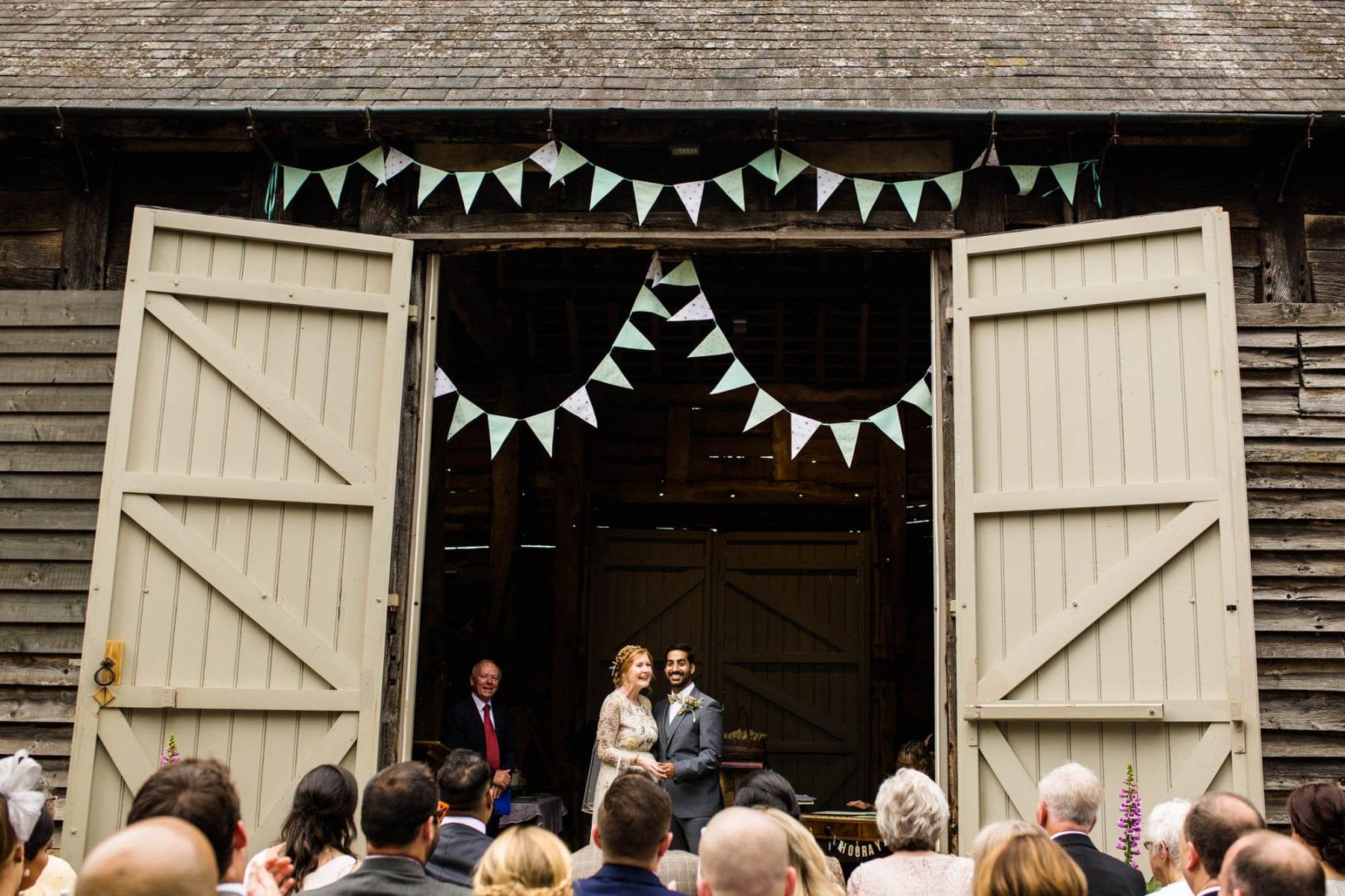 Pimhill Barn Outdoor Wedding
