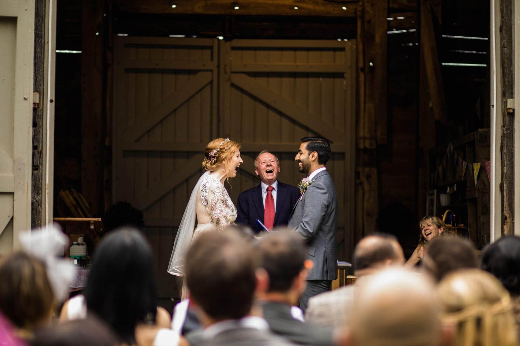 Pimhill Barn Wedding Ceremony