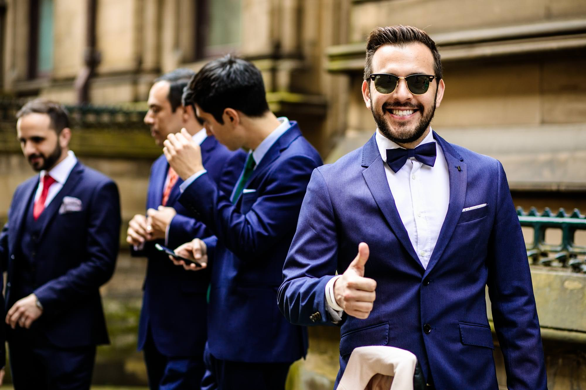 Fun Wedding Photographs Manchester