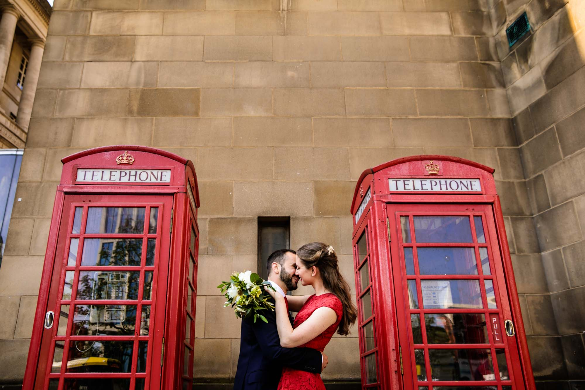 Quirky Wedding Photos Manchester