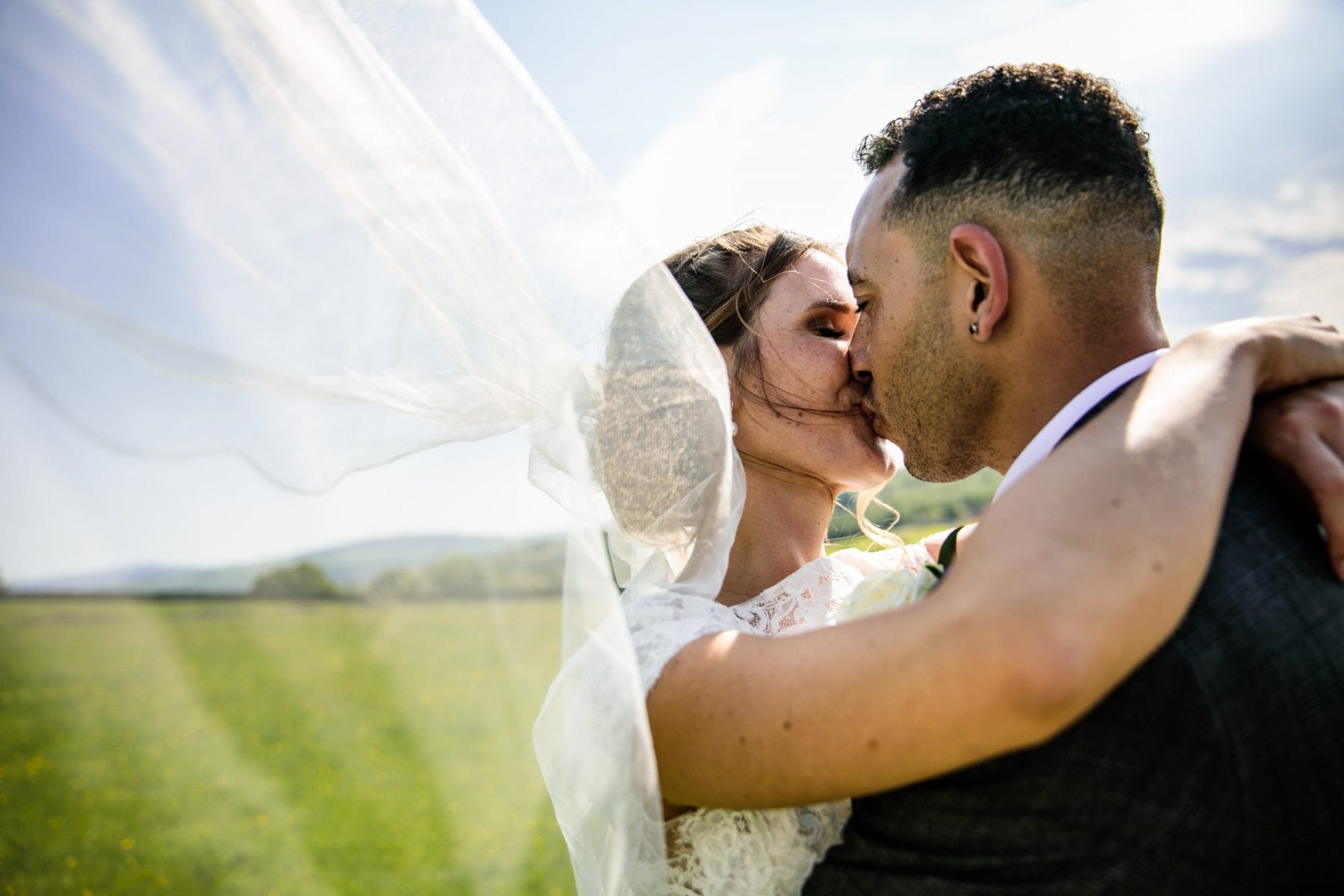 Creative Wedding Photographer Thornsett Fields Farm