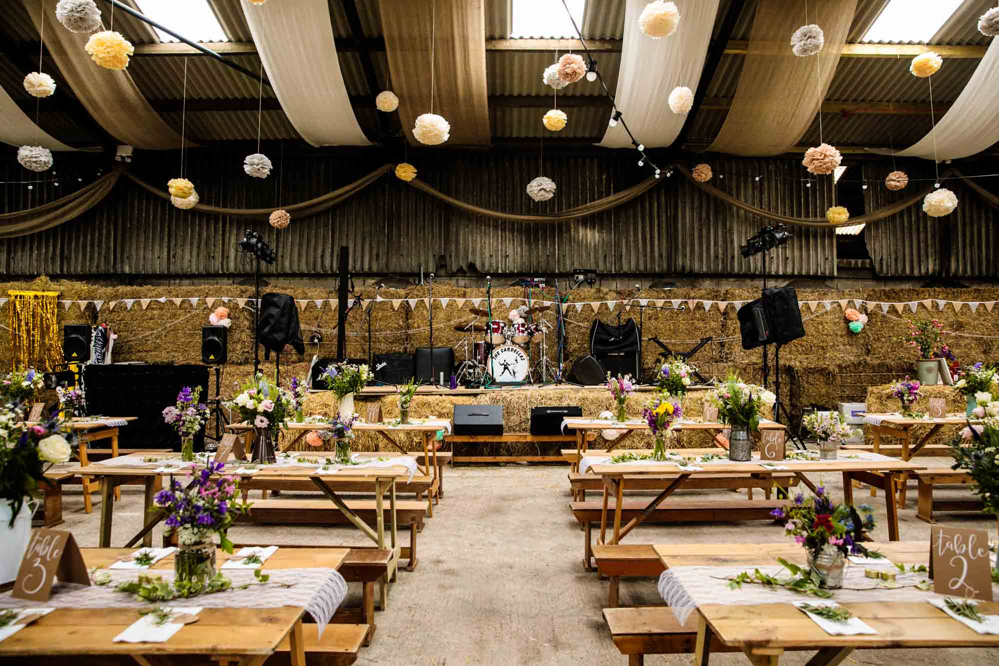 Thornsett Fields Farm Wedding Barn