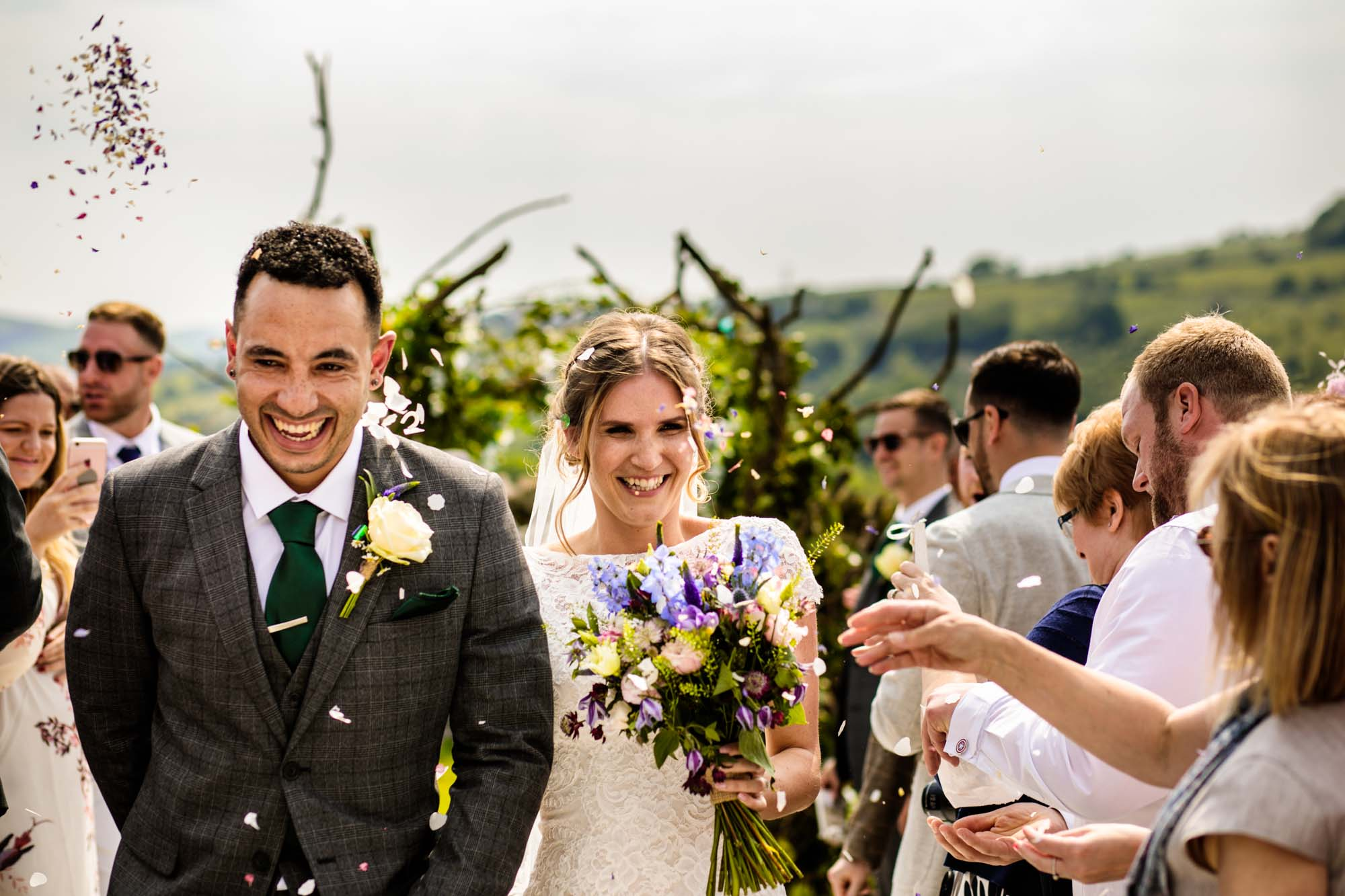 Thornsett Fields Farm Wedding Photographer