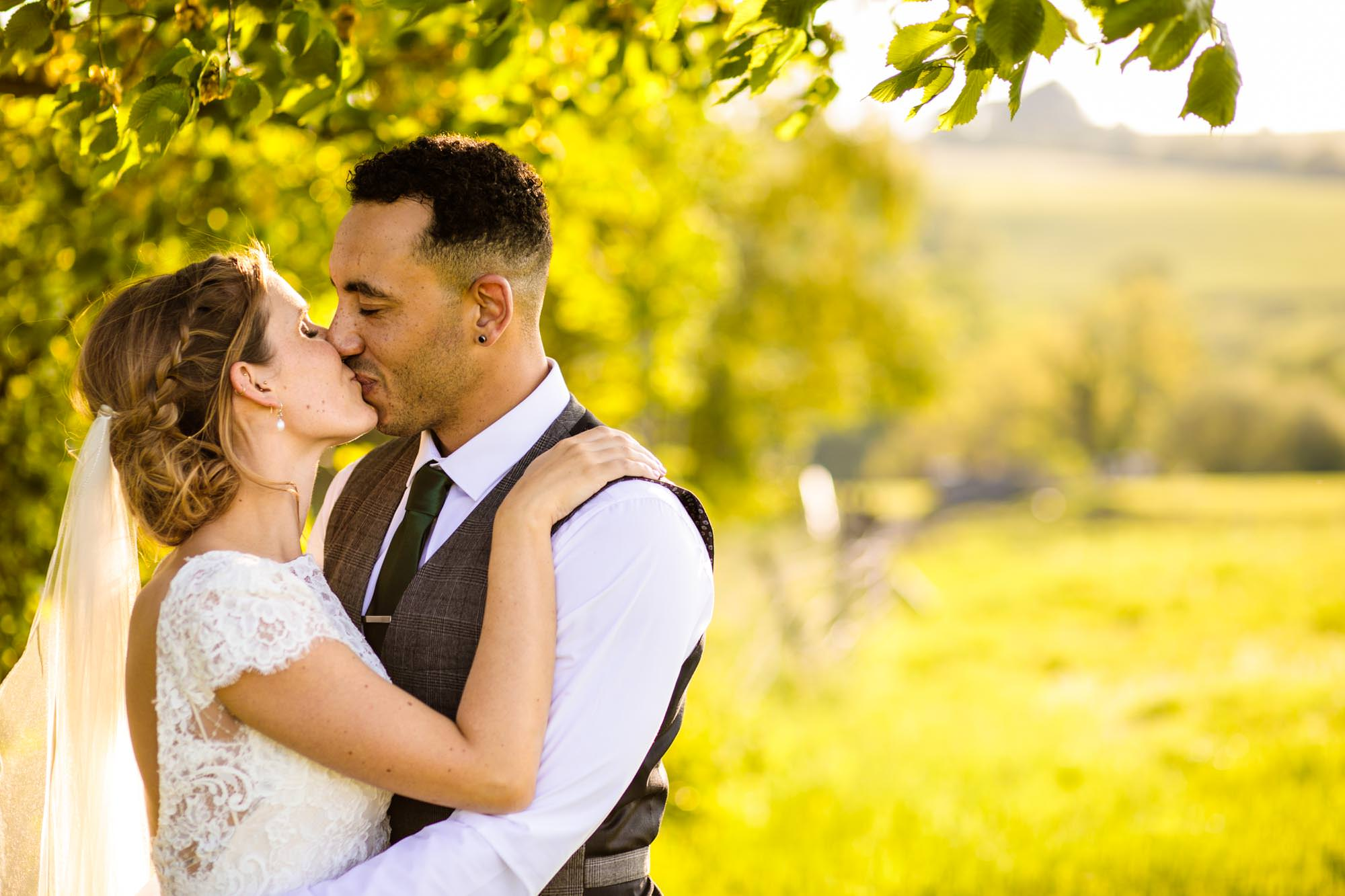 Wedding Photographer Thornsett Fields Farm
