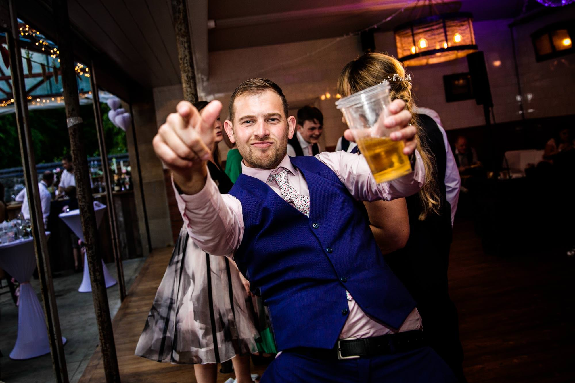 Fun Wedding Photographs Plas Dinam