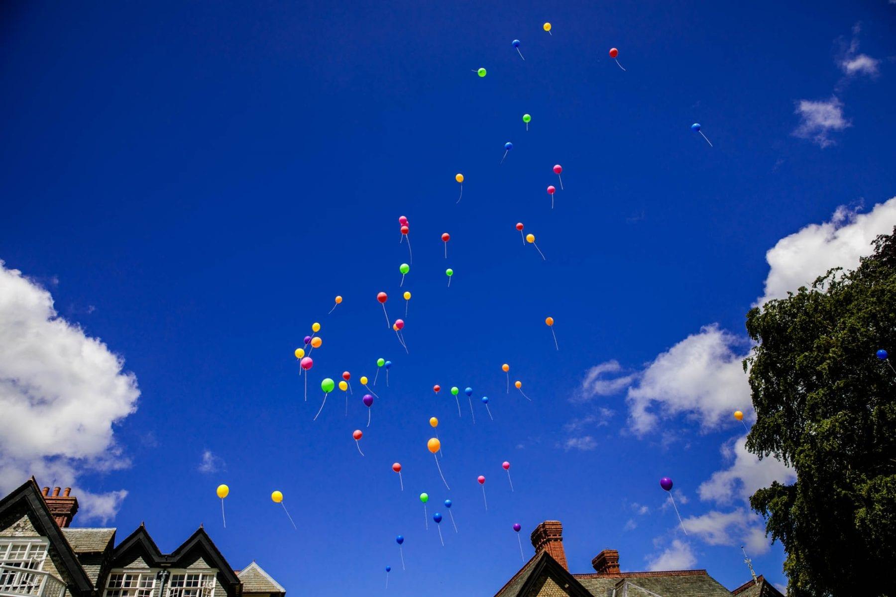 Plas Dinam Balloon Release