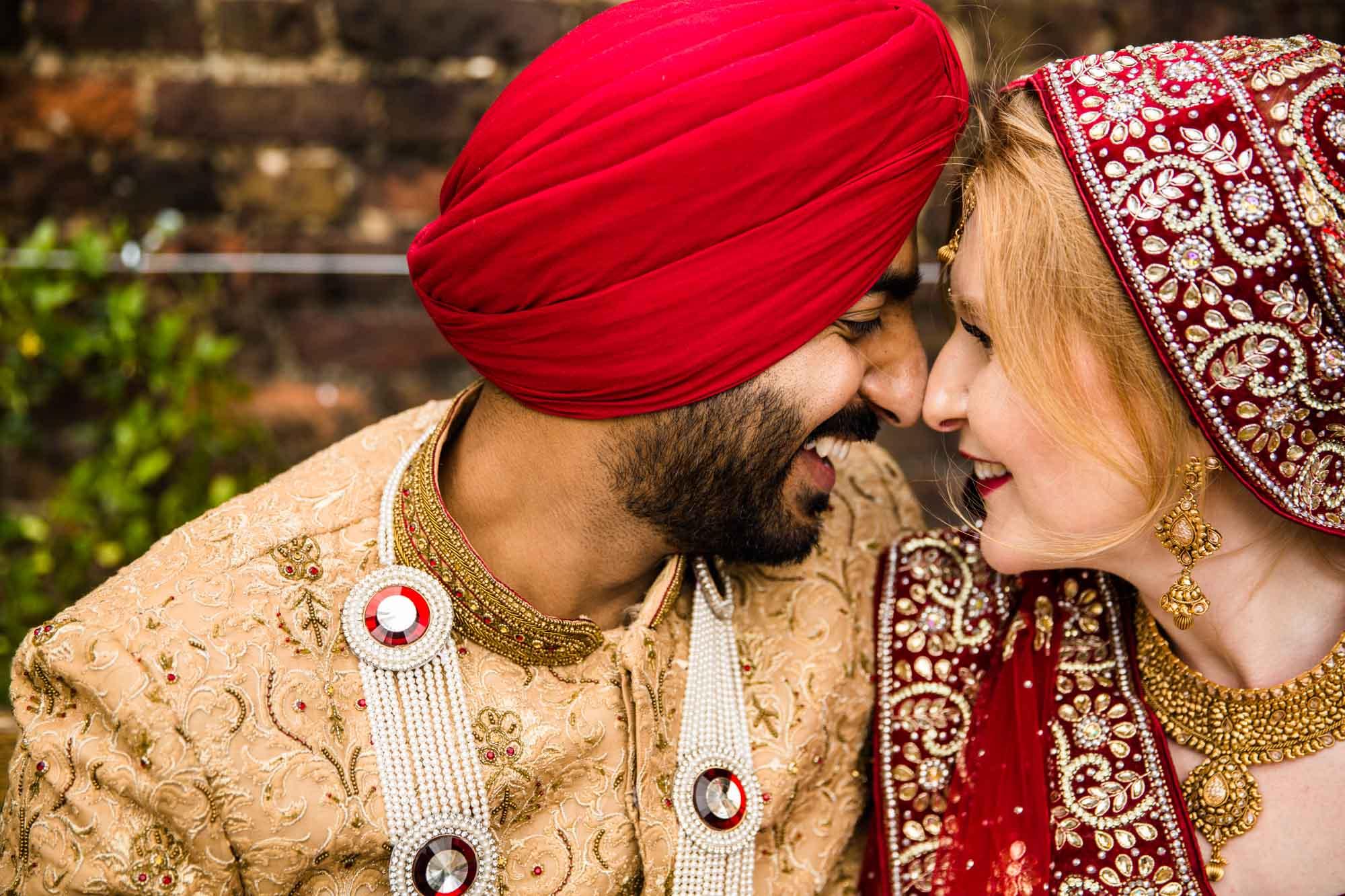 Creative Sikh Wedding Photographer