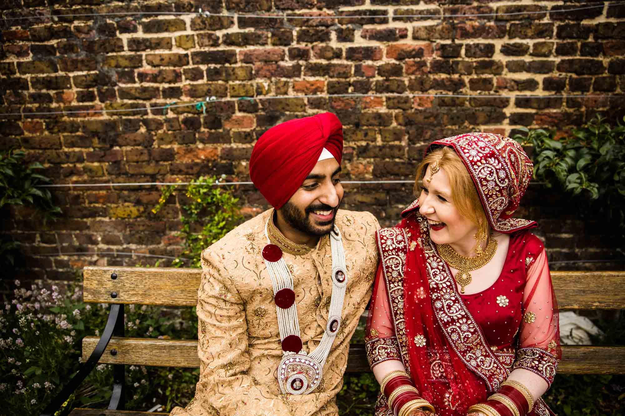 Creative Sikh Wedding Photography