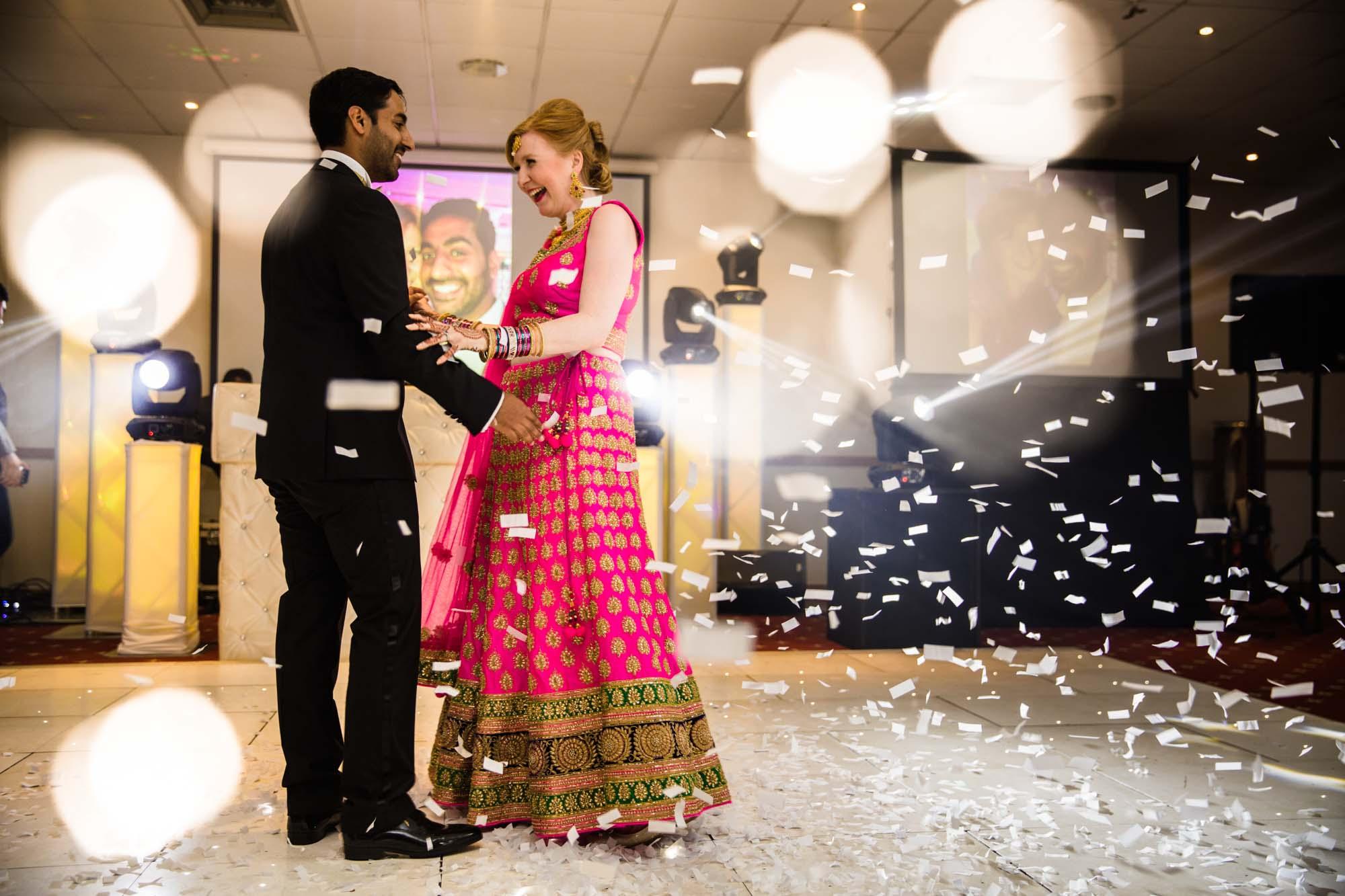 Fun Indian Wedding Photographs