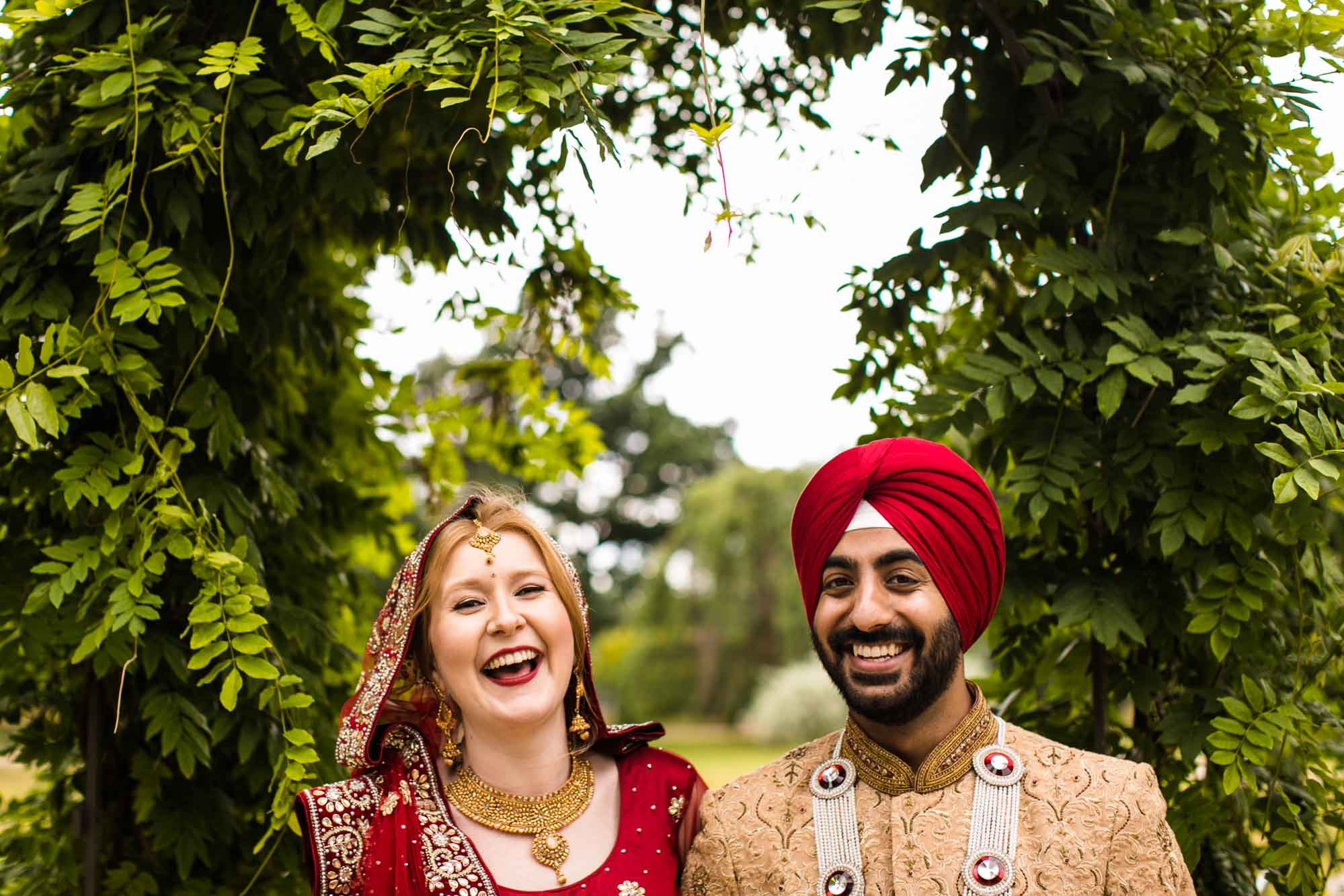Sikh Creative Wedding Photographer