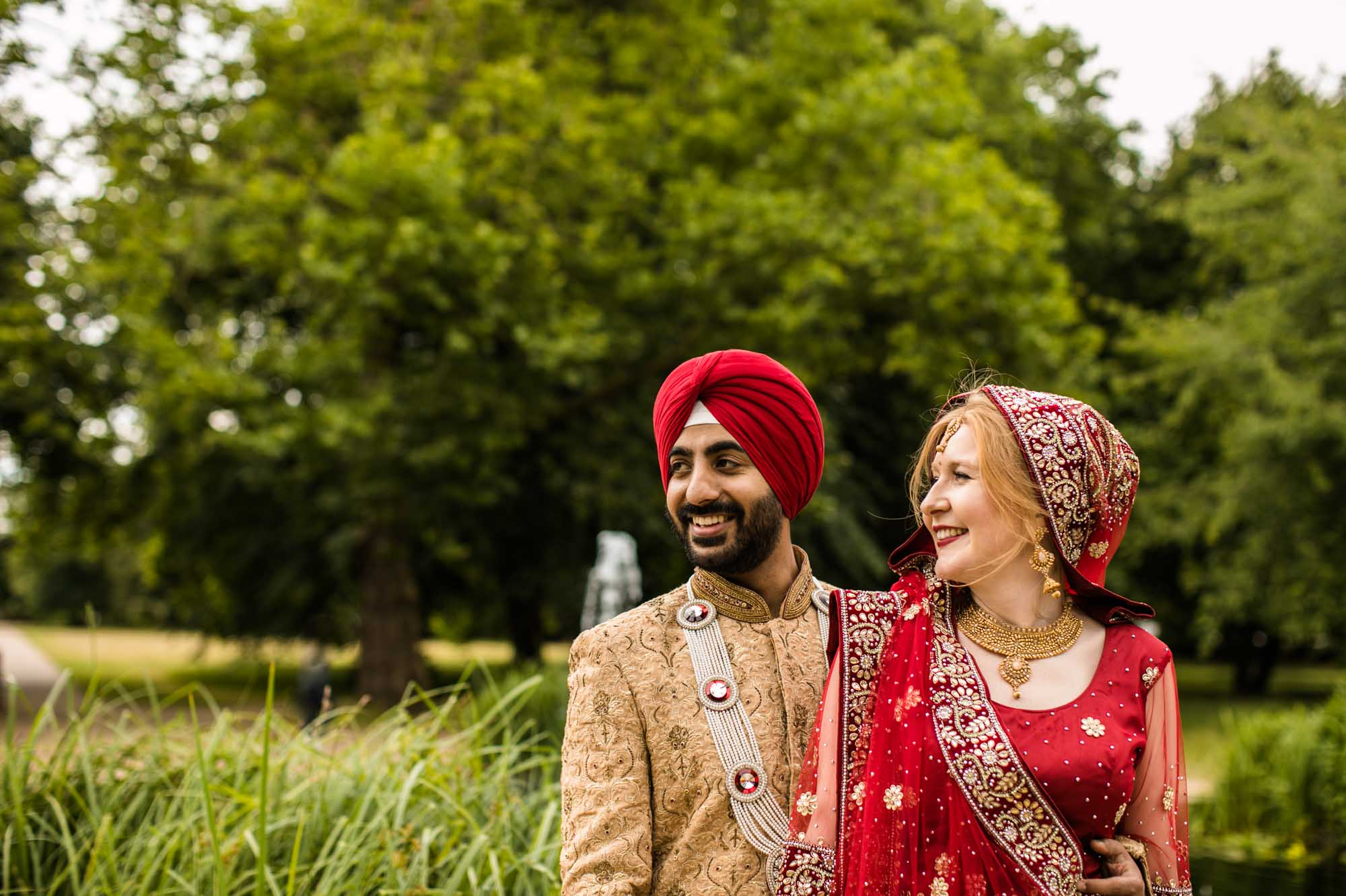 Sikh Creative Wedding Photographs