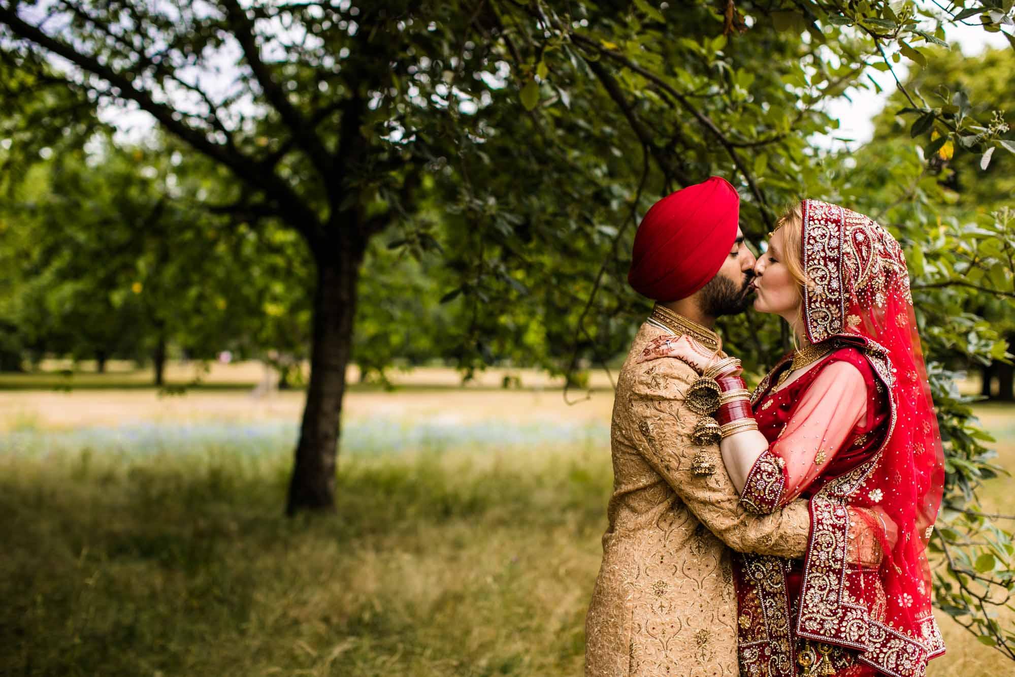 Sikh Creative Wedding Photography