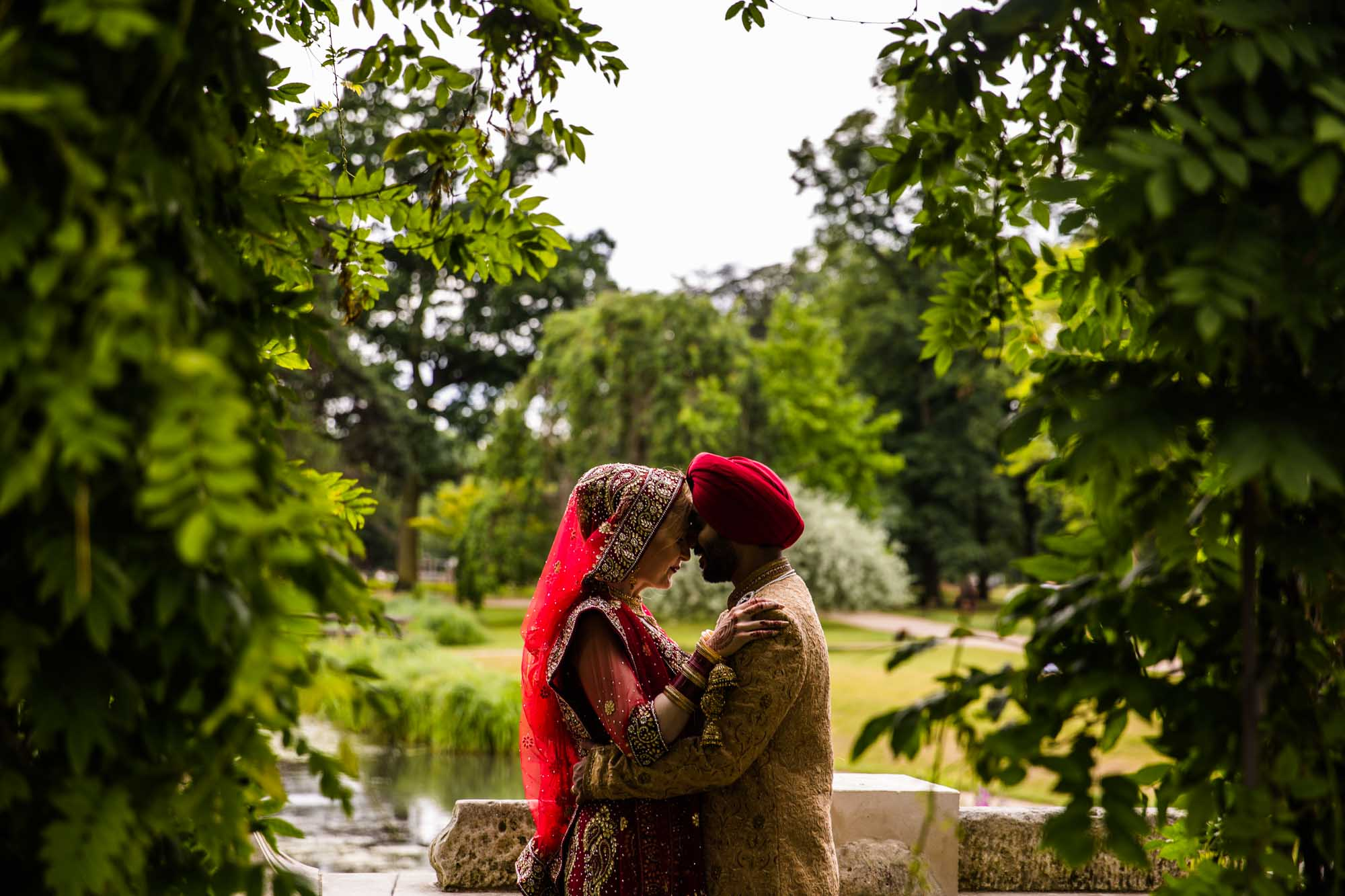 Sikh Creative Wedding Photos