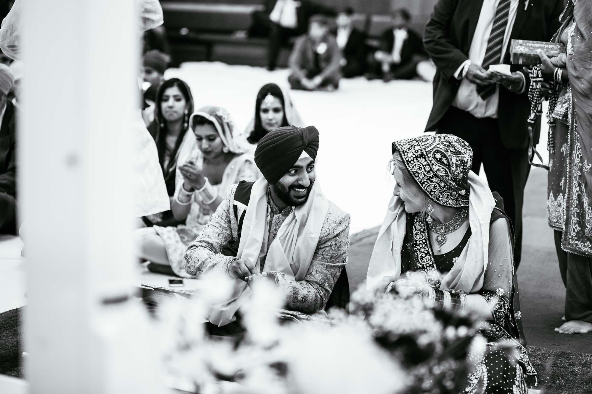 Sikh Documentary Wedding Photography