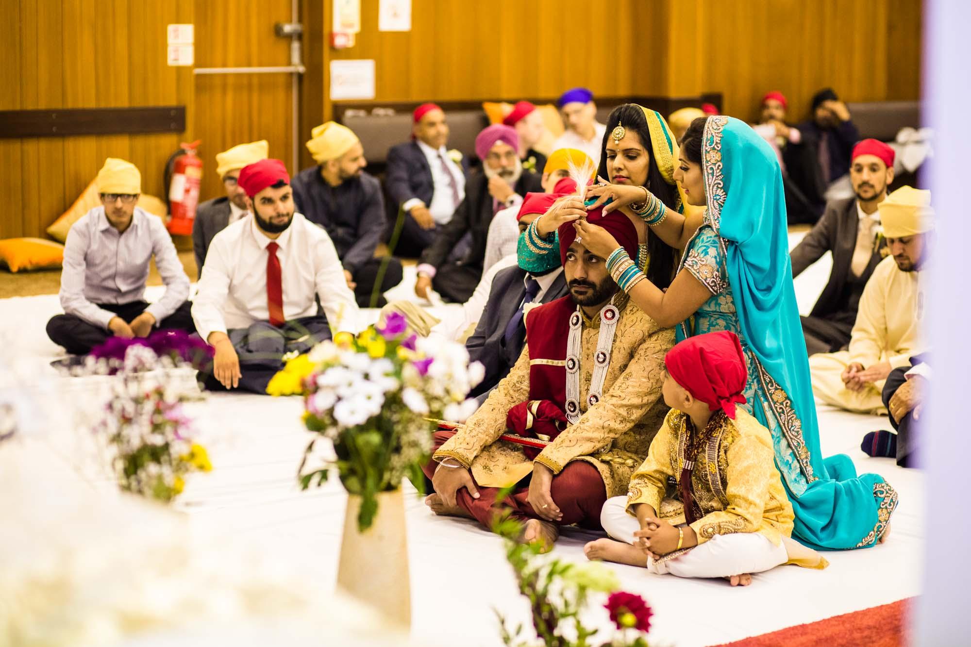 Sikh Fusion Wedding Ceremony