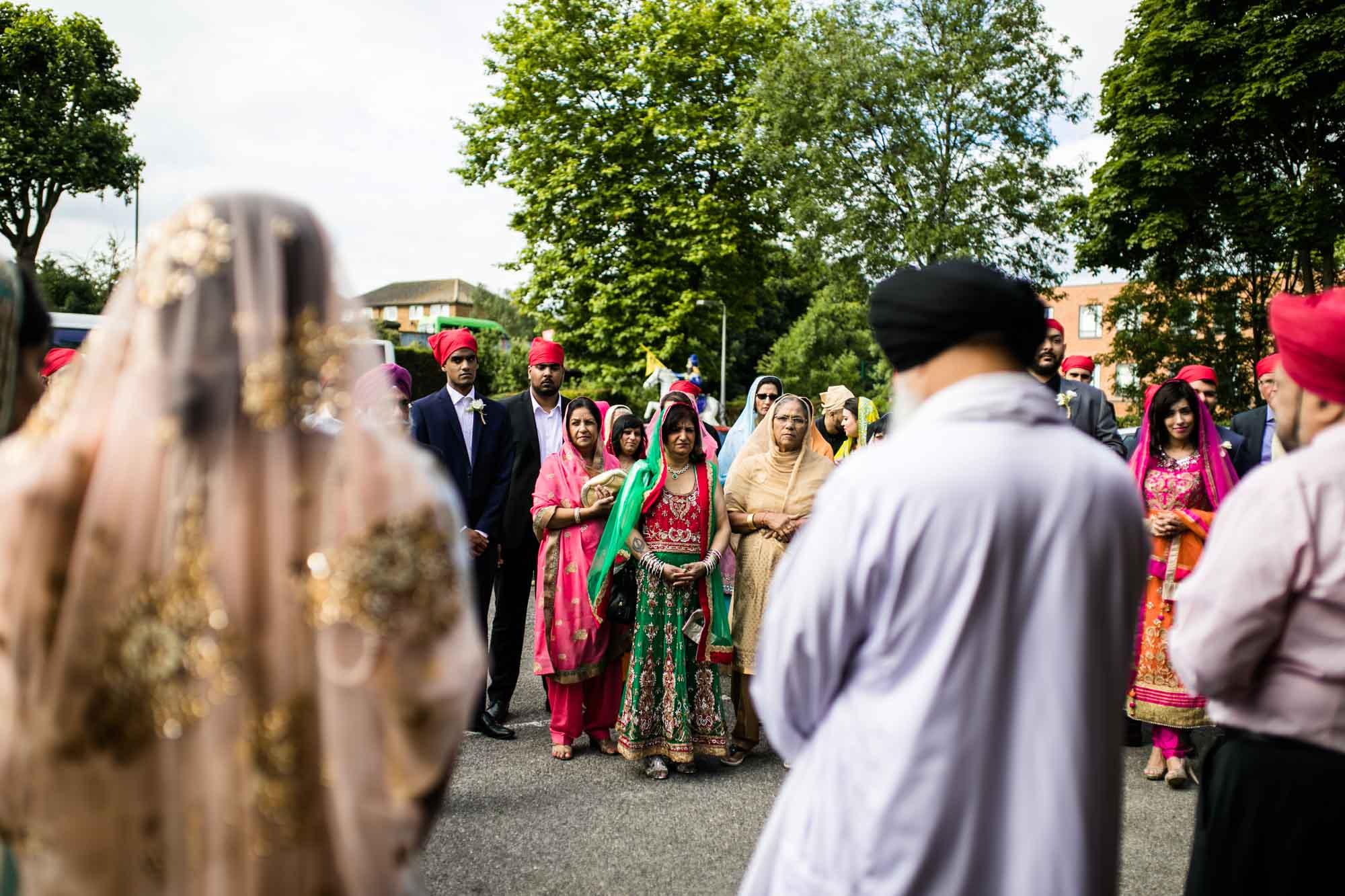 Sikh Fusion Wedding Photographer