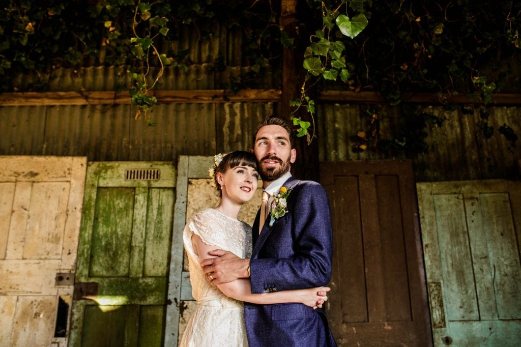 Colourful Barn Wedding Photos