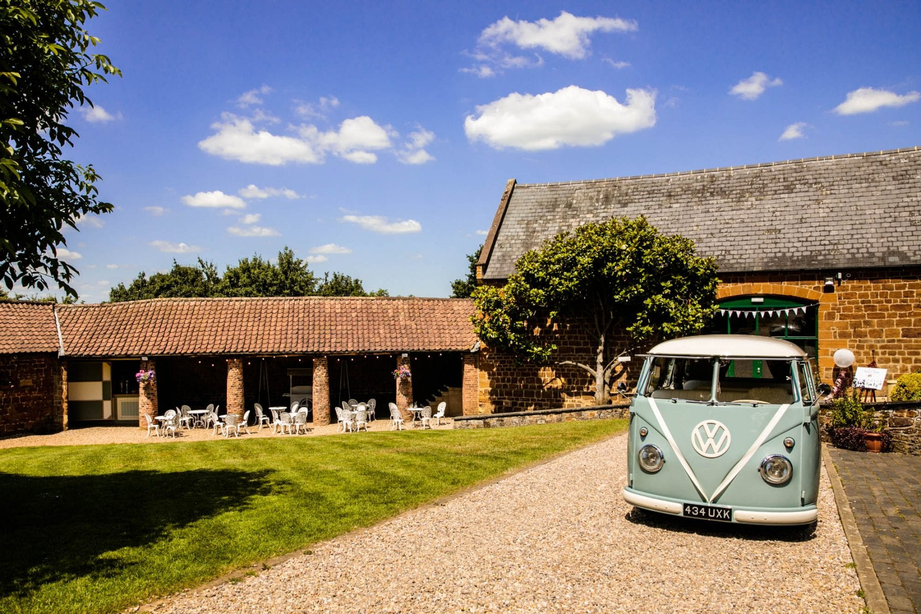 The Barns at Hunsbury Hill Wedding Photographs