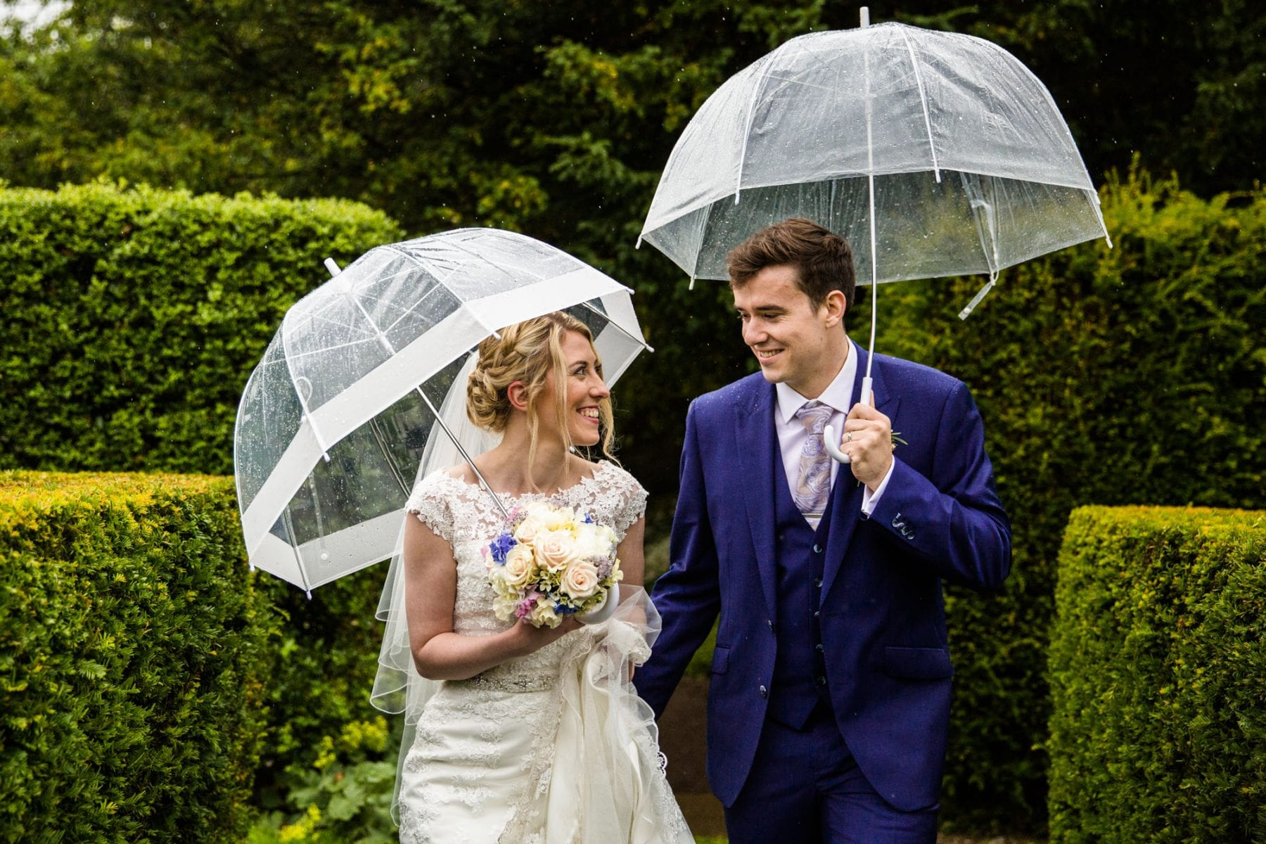 Colourful Wedding Photographs Eyam Hall