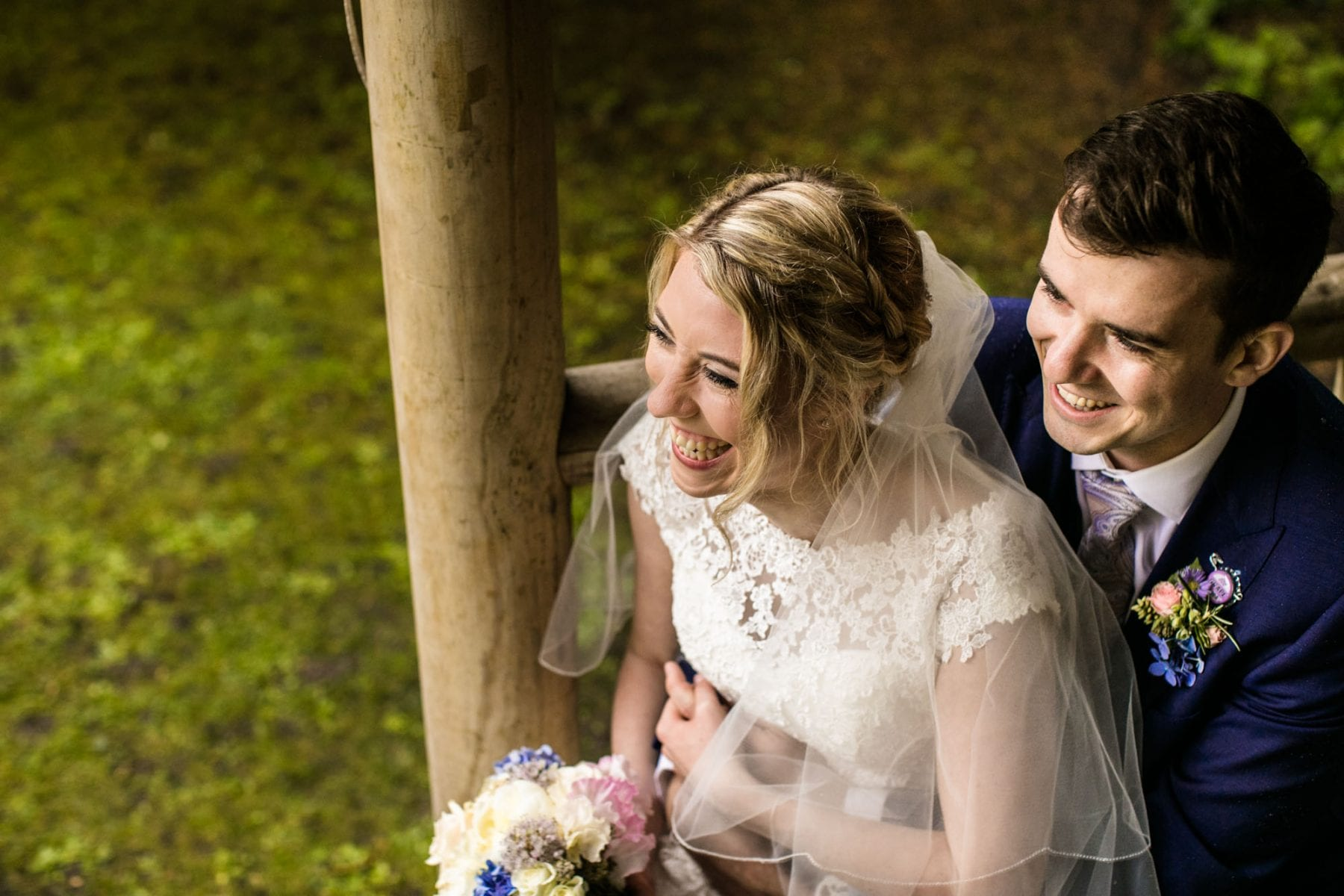 Creative Wedding Photographer Eyam Hall.