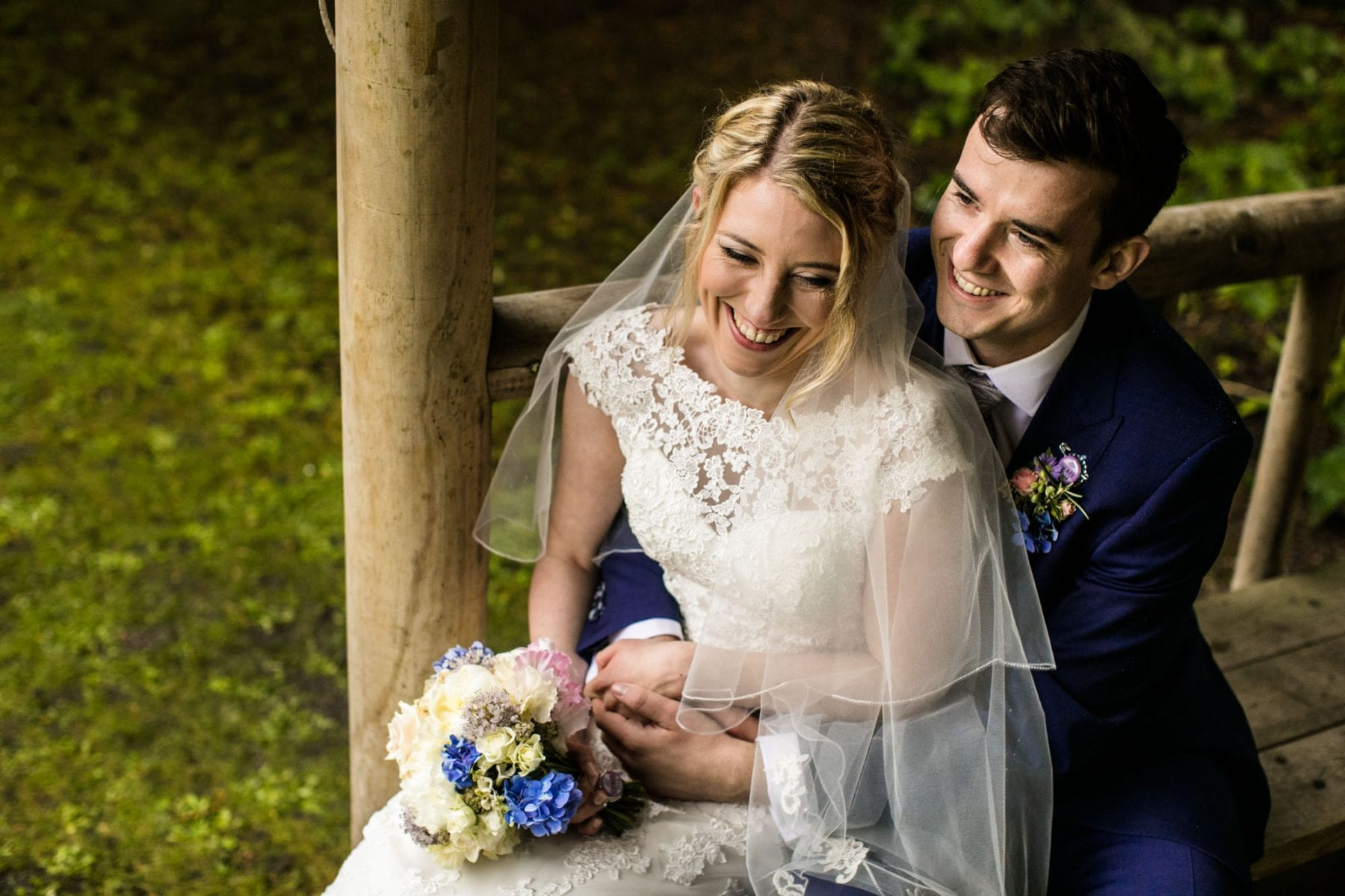Creative Wedding Photos Eyam Hall.