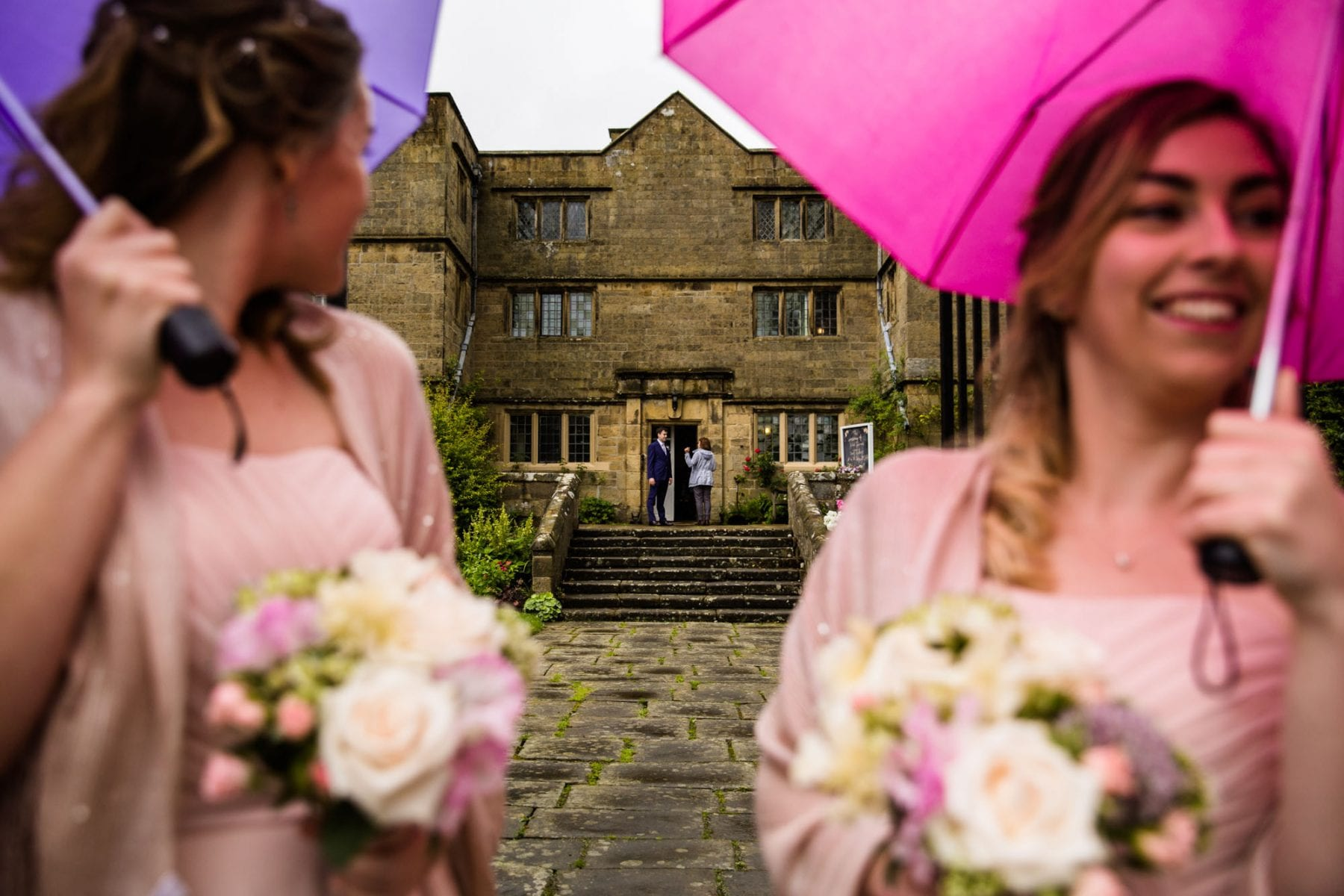 Documentary Wedding Photographs Eyam Hall